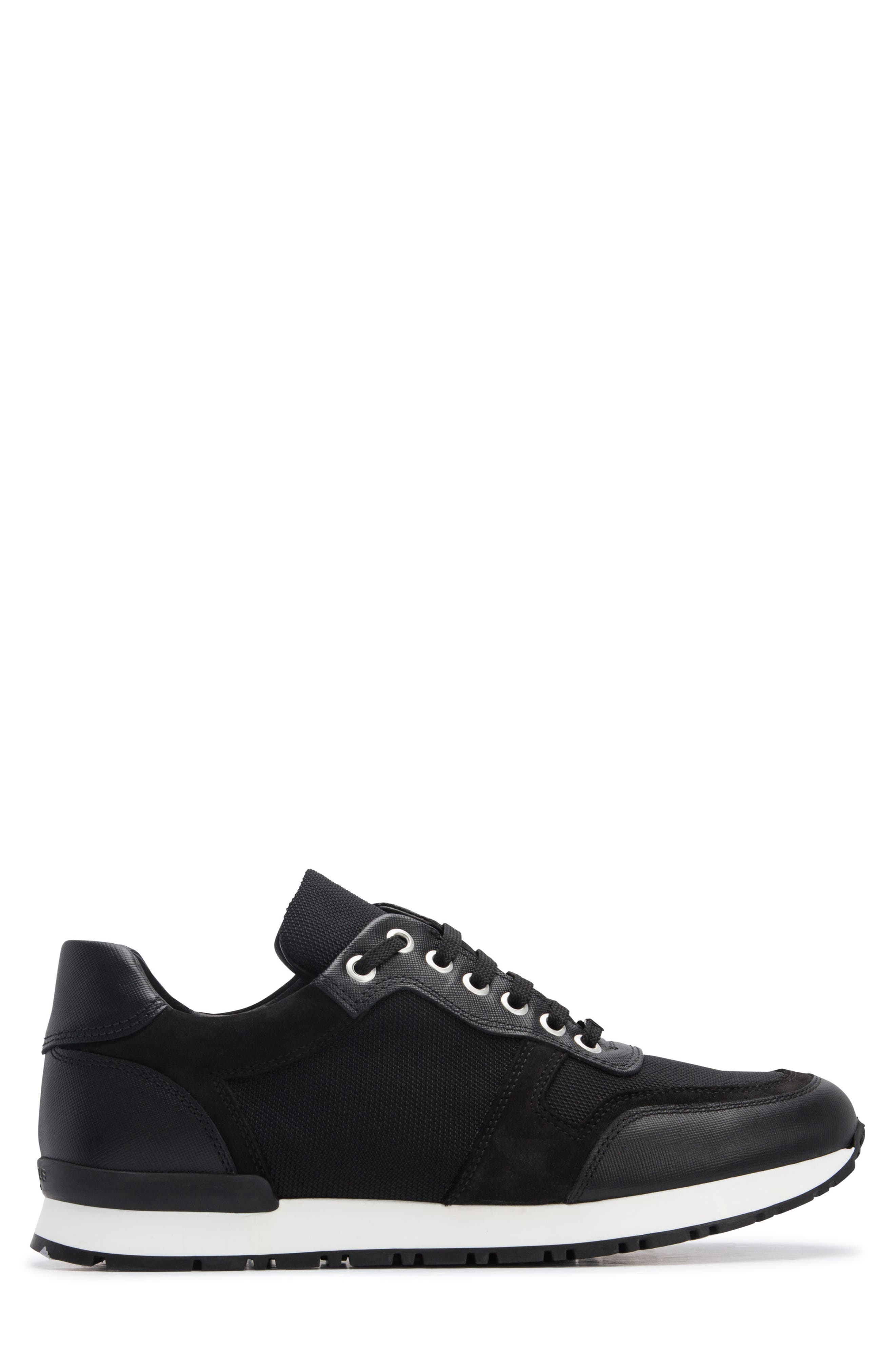 Modena Sneaker,                             Alternate thumbnail 3, color,                             NERO BLACK