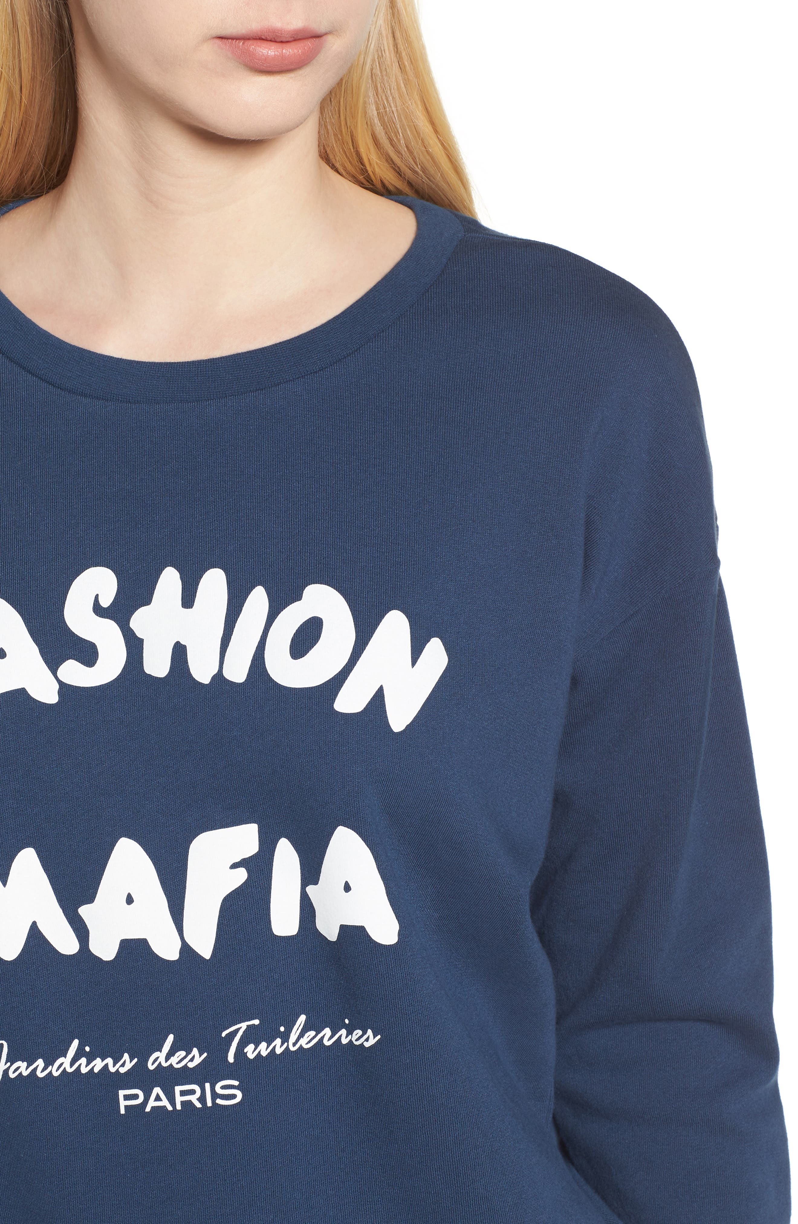 Alexa - Fashion Mafia Sweatshirt,                             Alternate thumbnail 4, color,