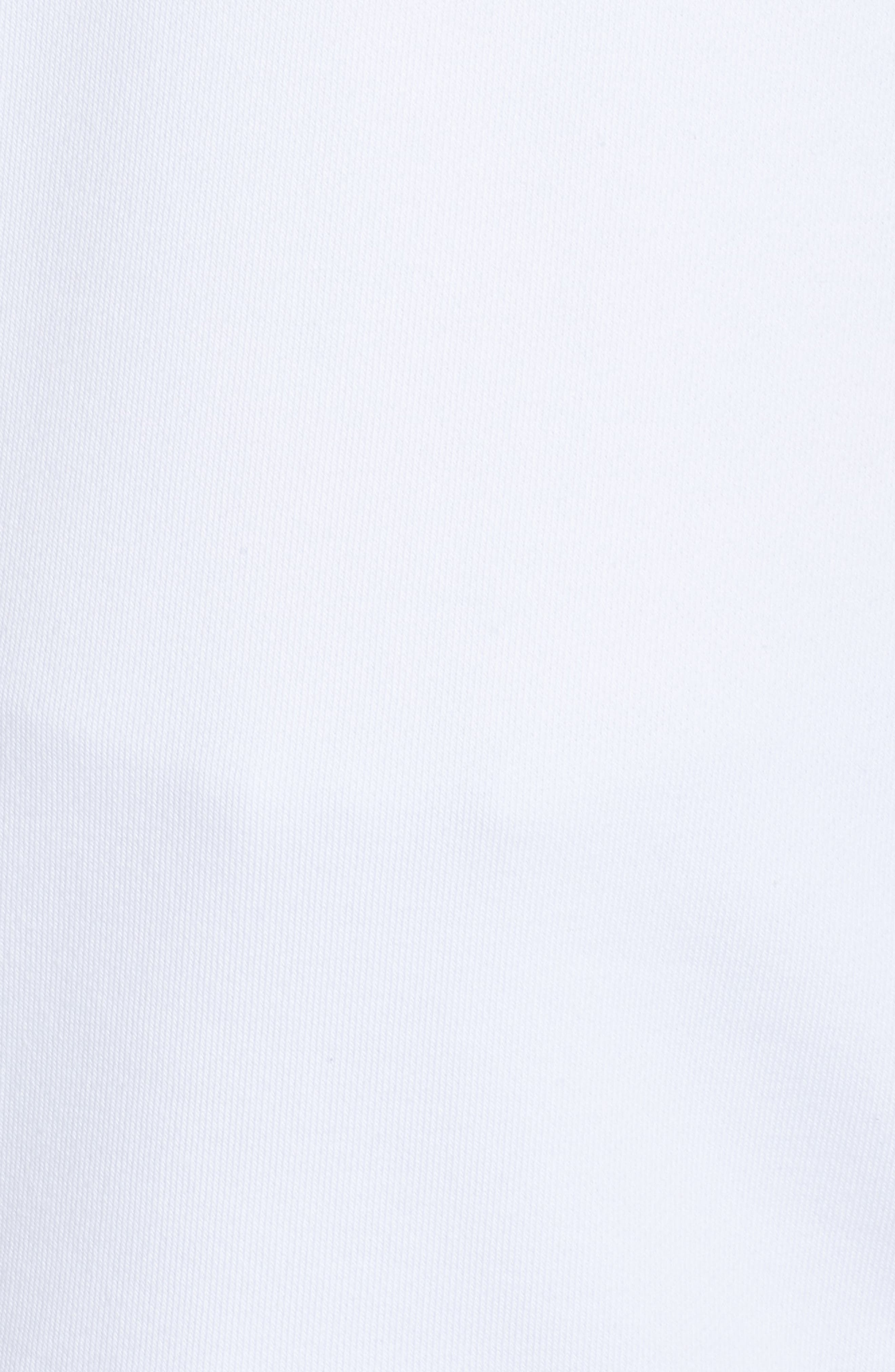 Dry Swoosh Sweatshirt,                             Alternate thumbnail 6, color,                             WHITE/ BLACK HEATHER/ WHITE