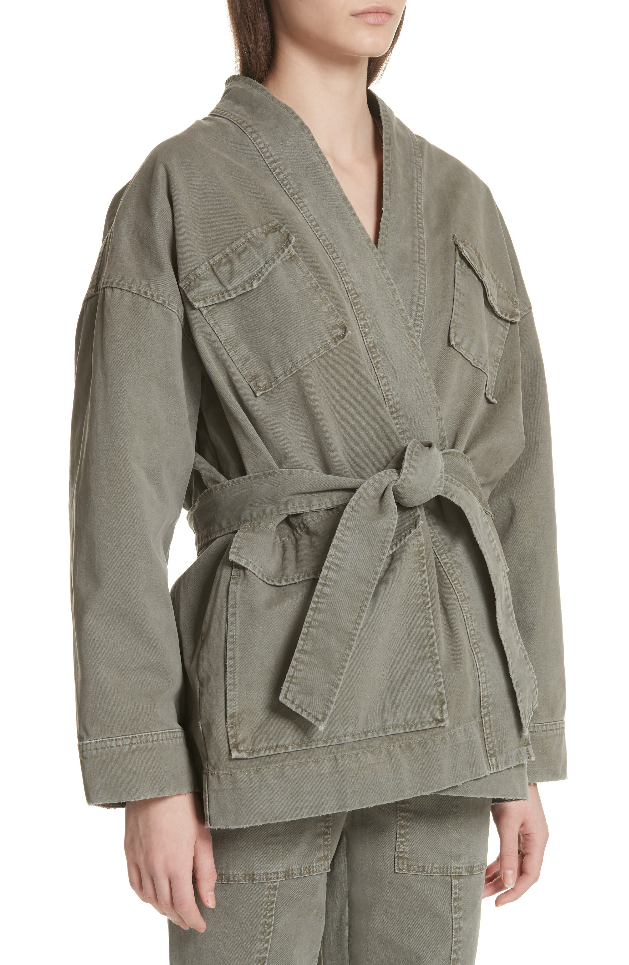 Belted Utility Jacket,                             Alternate thumbnail 4, color,                             318