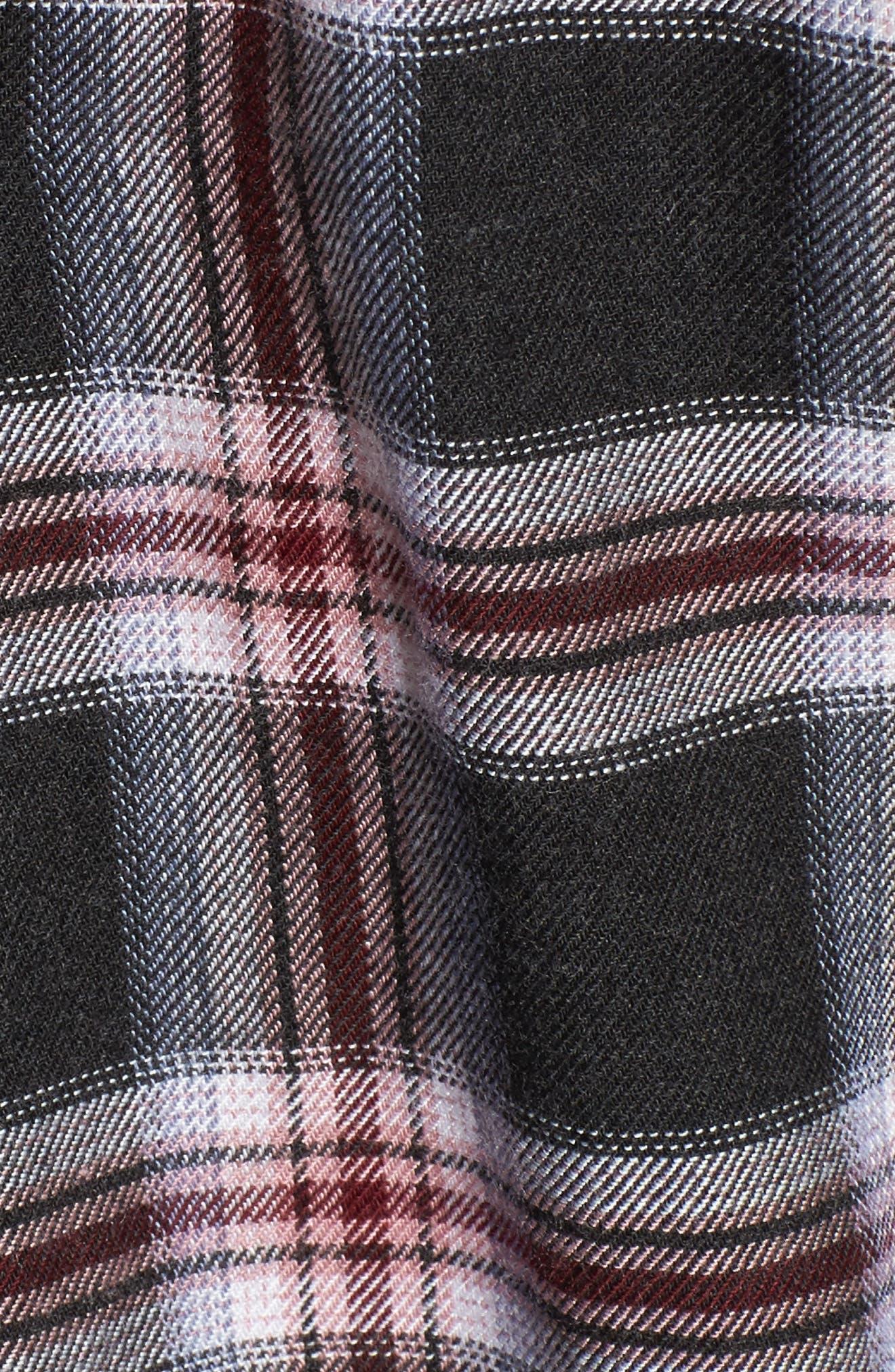 Rex Studded Plaid Shirt,                             Alternate thumbnail 5, color,                             006