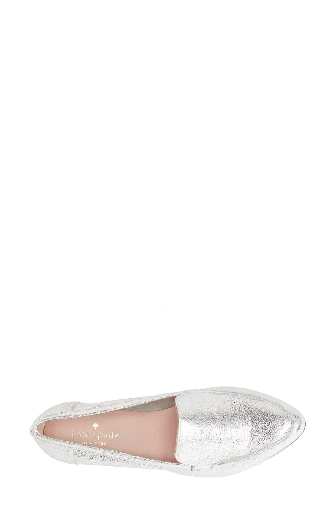 'carima' loafer flat,                             Alternate thumbnail 45, color,