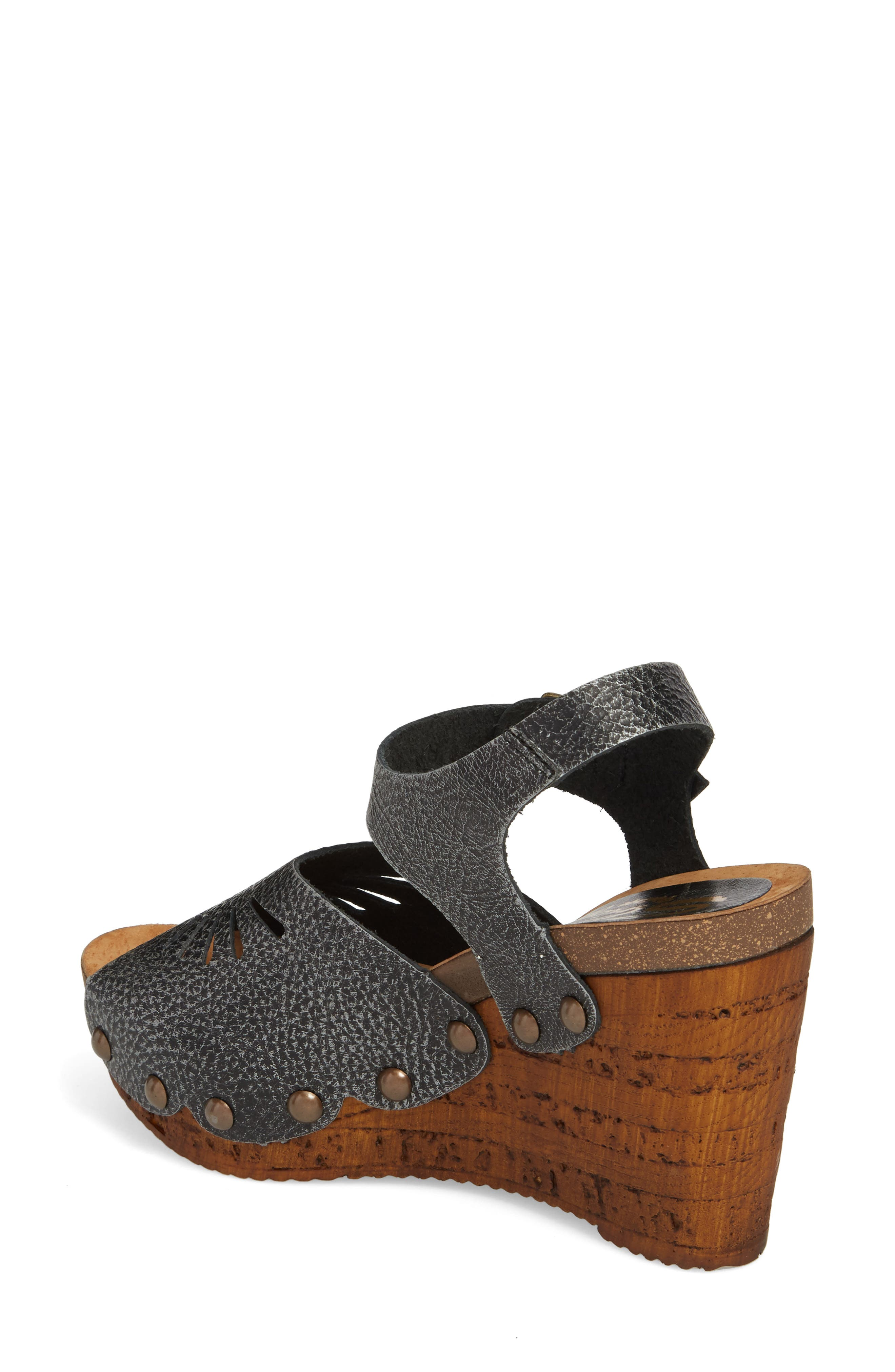 Langsa Wedge Sandal,                             Alternate thumbnail 3, color,
