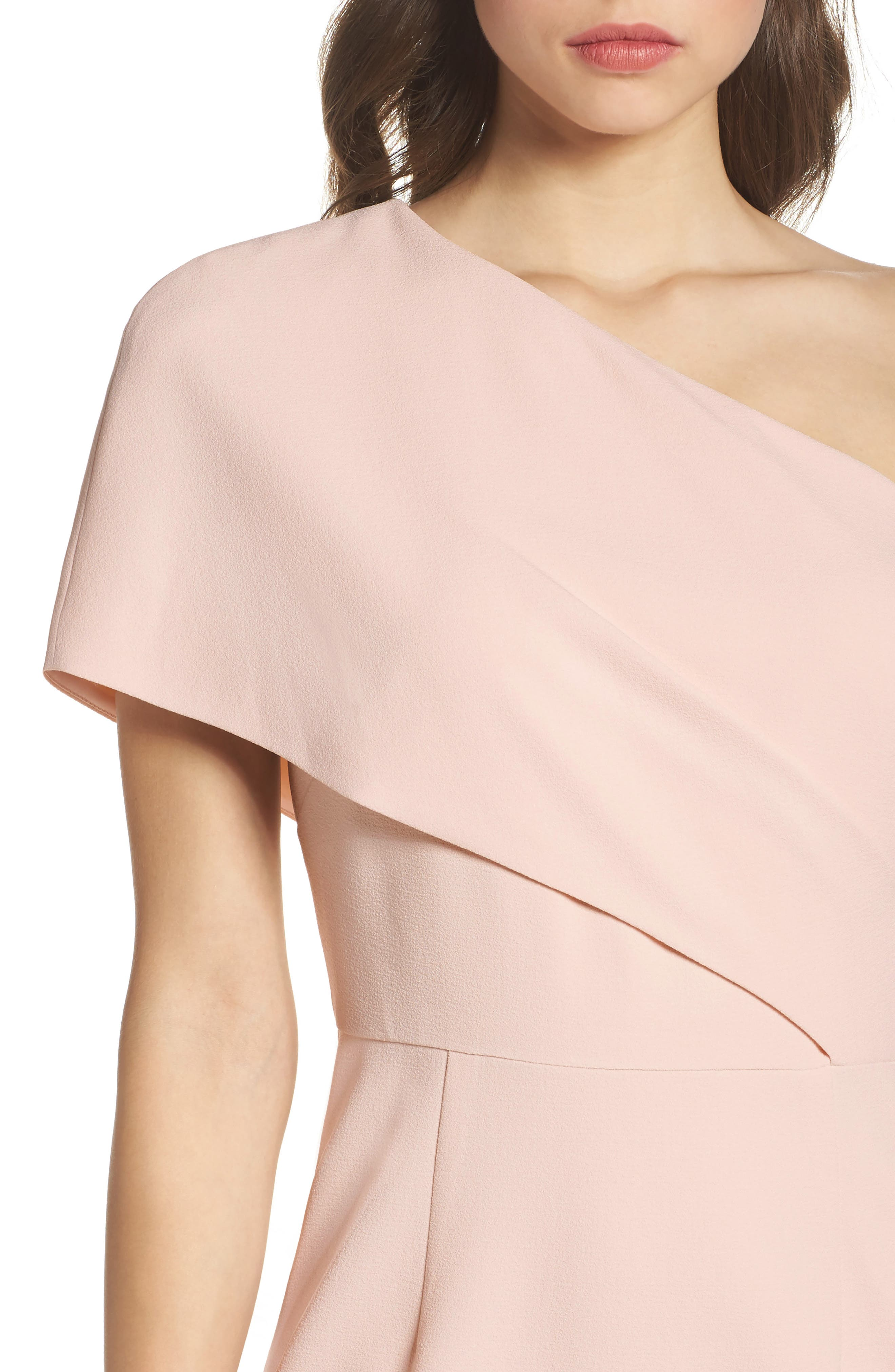 One-Shoulder Body-Con Dress,                             Alternate thumbnail 4, color,                             684
