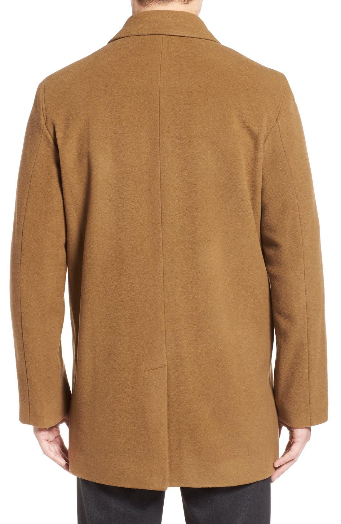 Italian Wool Blend Overcoat,                             Alternate thumbnail 17, color,