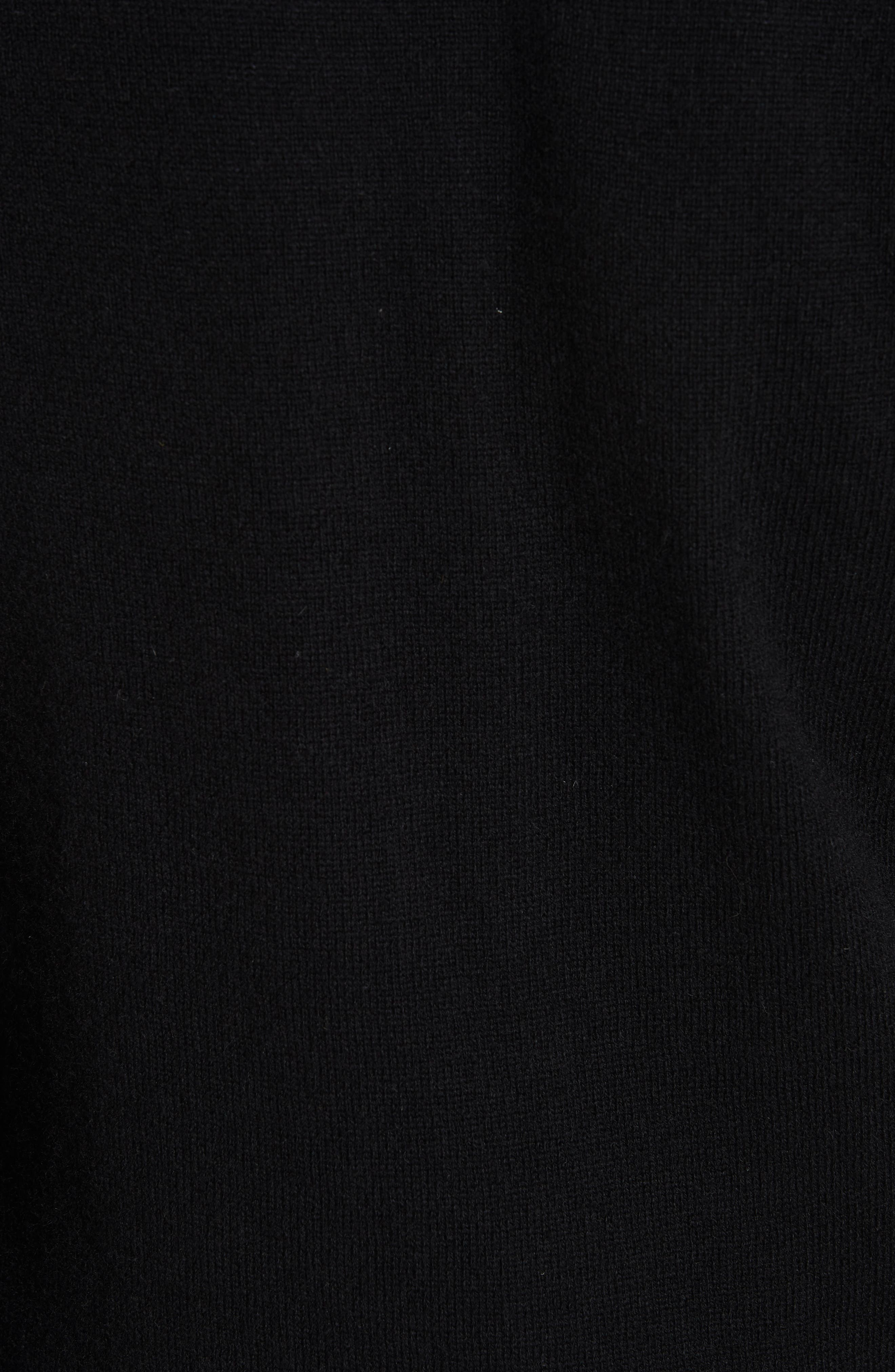 PLAY Wool Cardigan,                             Alternate thumbnail 5, color,                             BLACK