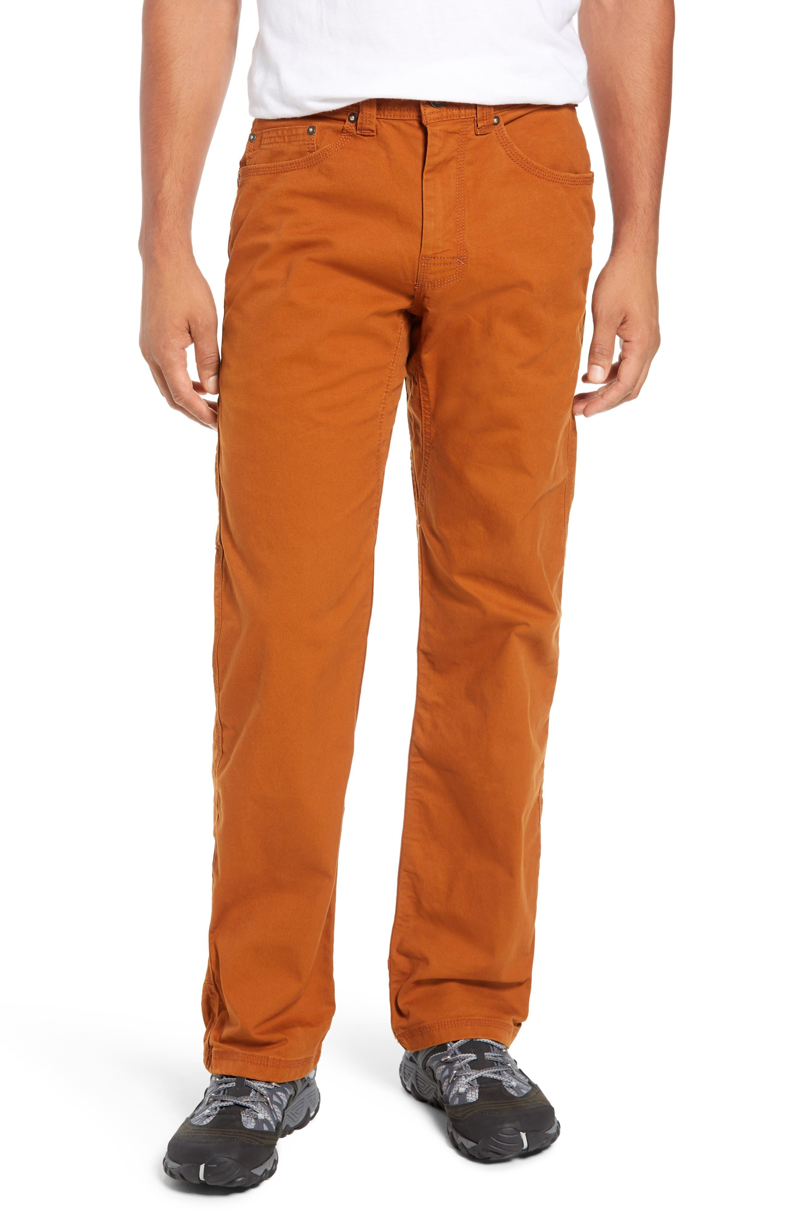 PRANA Bronson Pants in Burnt Caramel