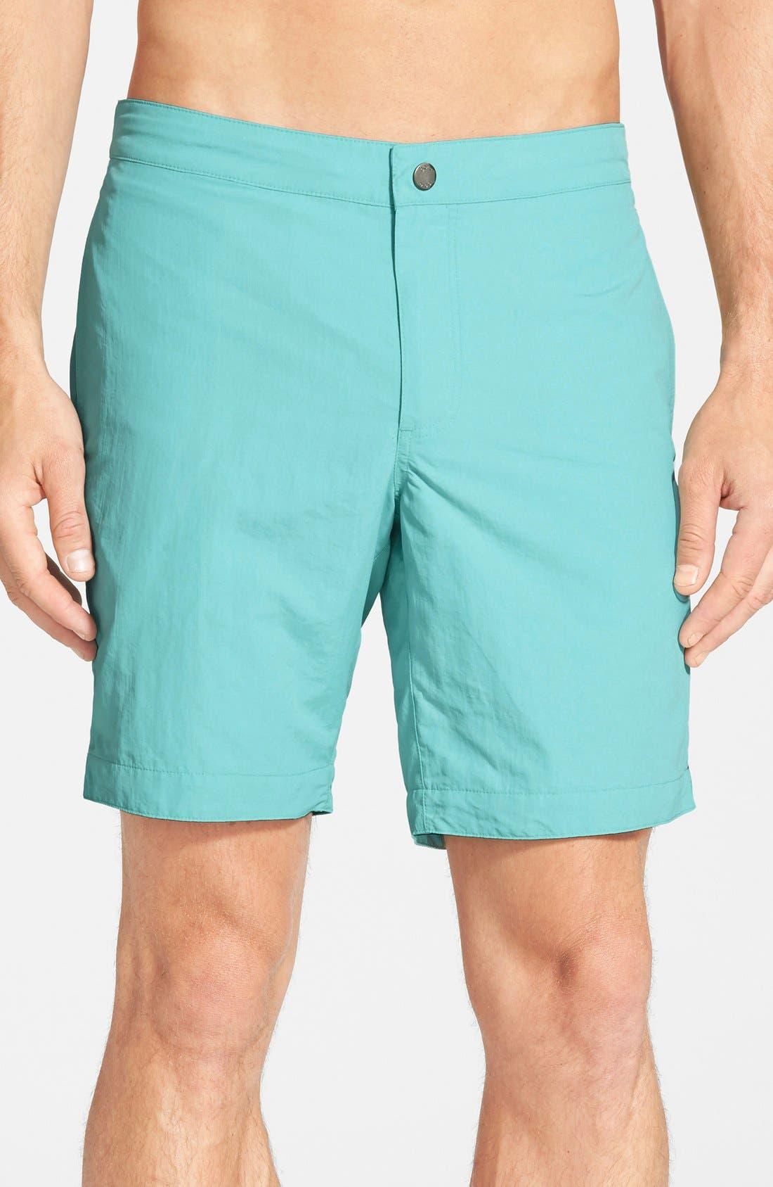 'Aruba - Island' Tailored Fit 8.5 Inch Board Shorts,                             Main thumbnail 3, color,