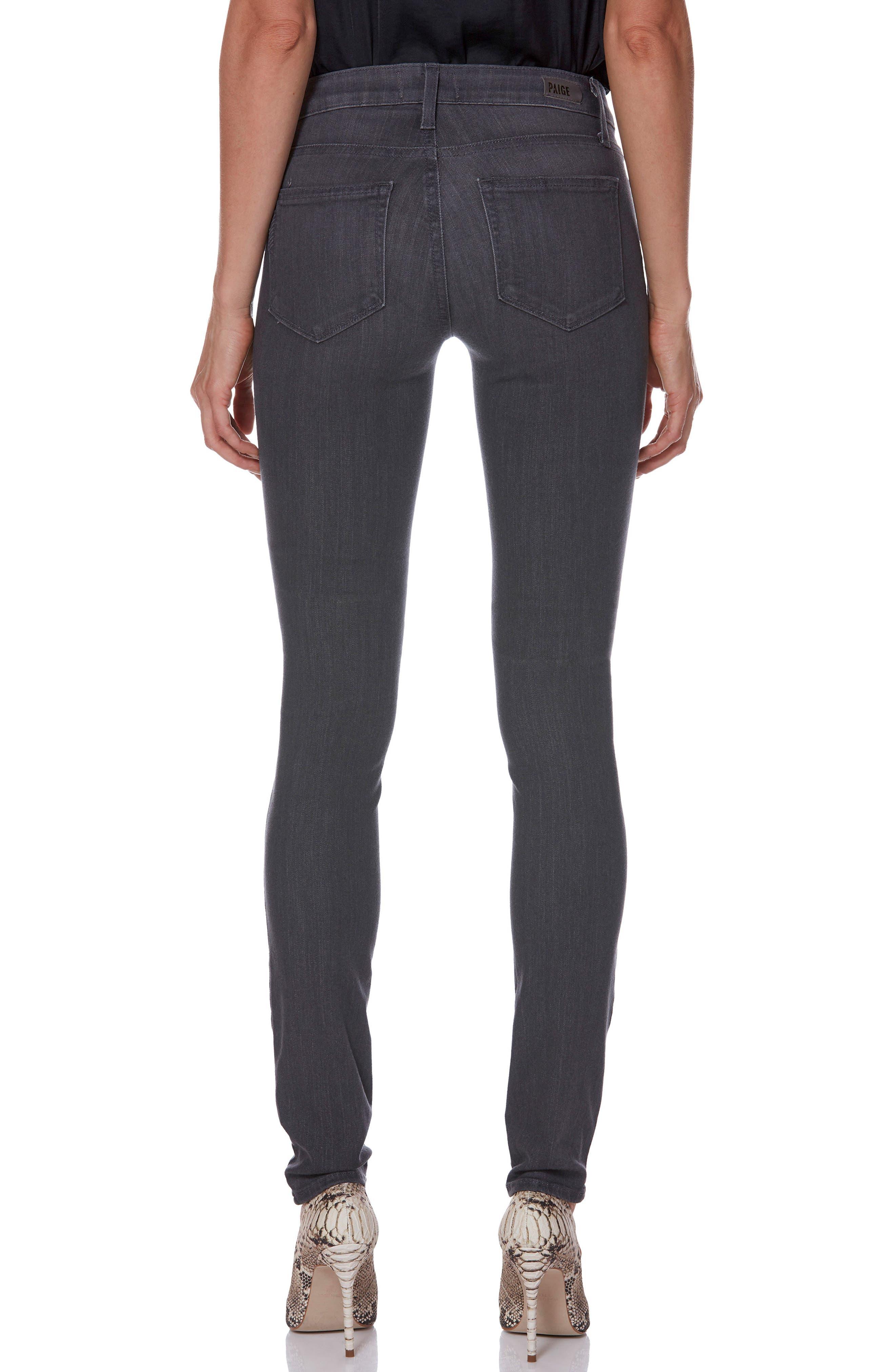 Transcend - Leggy Ultra Skinny Jeans,                             Alternate thumbnail 2, color,                             GREY PEAKS
