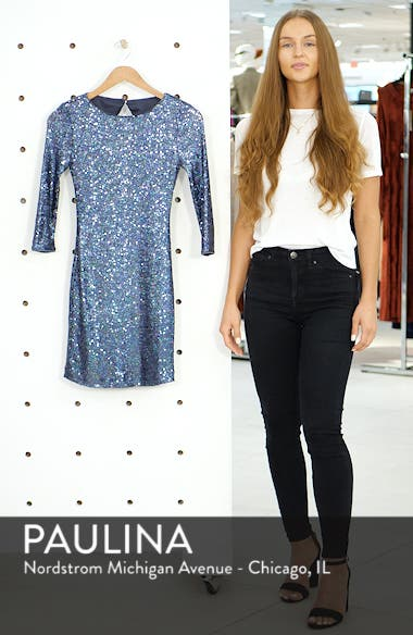 Sequin Body-Con Minidress, sales video thumbnail