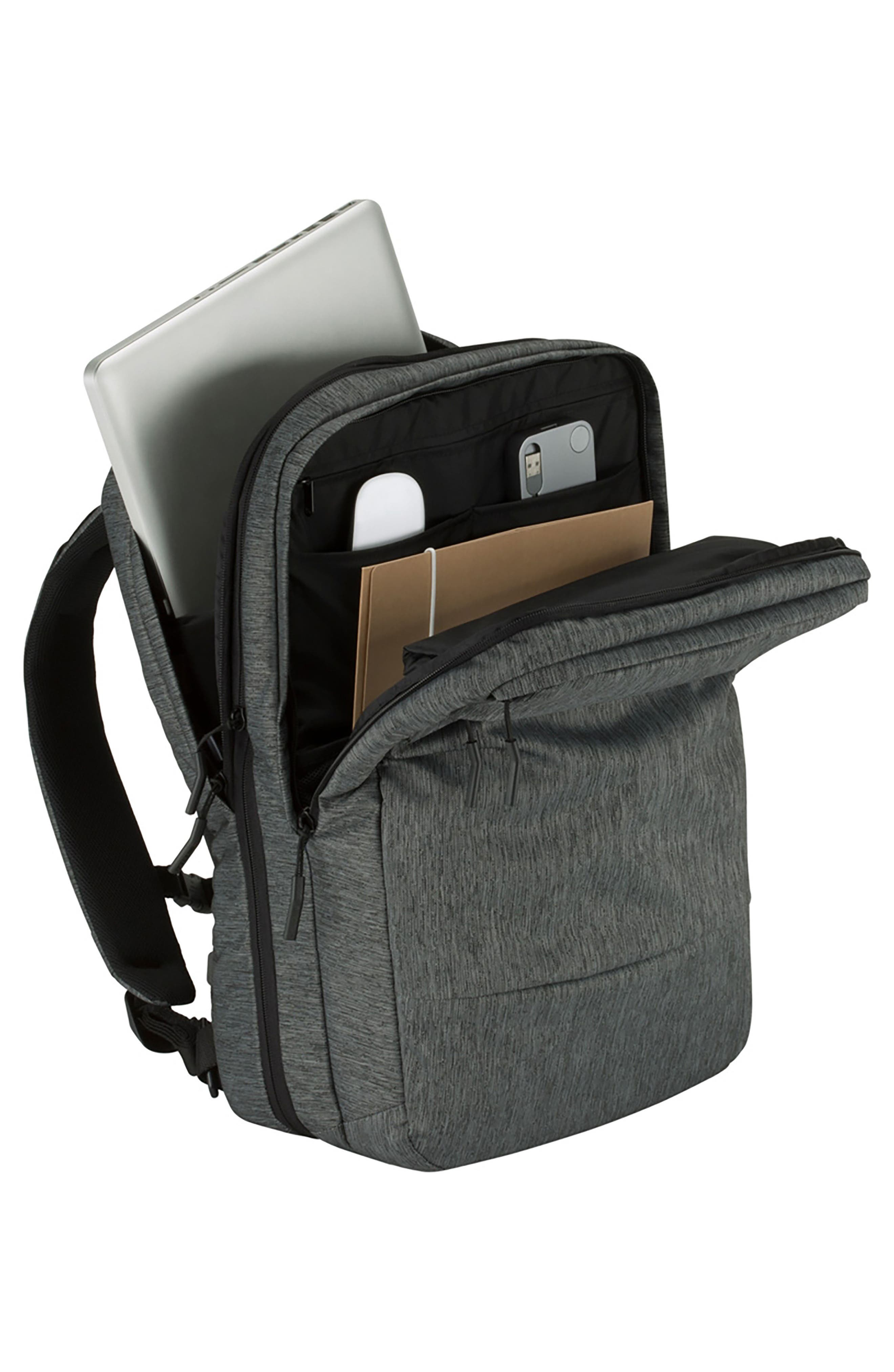 City Commuter Backpack,                             Alternate thumbnail 3, color,                             HEATHER BLACK