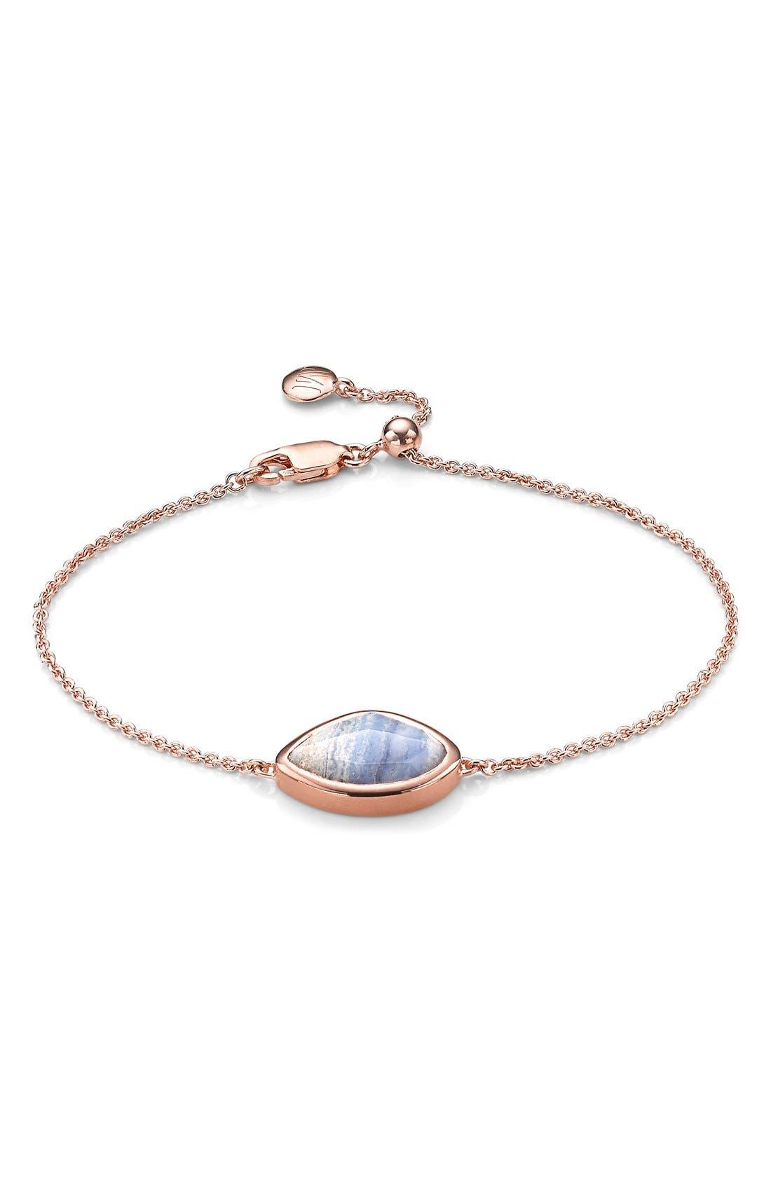 'Siren' Teardrop Bracelet,                             Main thumbnail 1, color,                             400