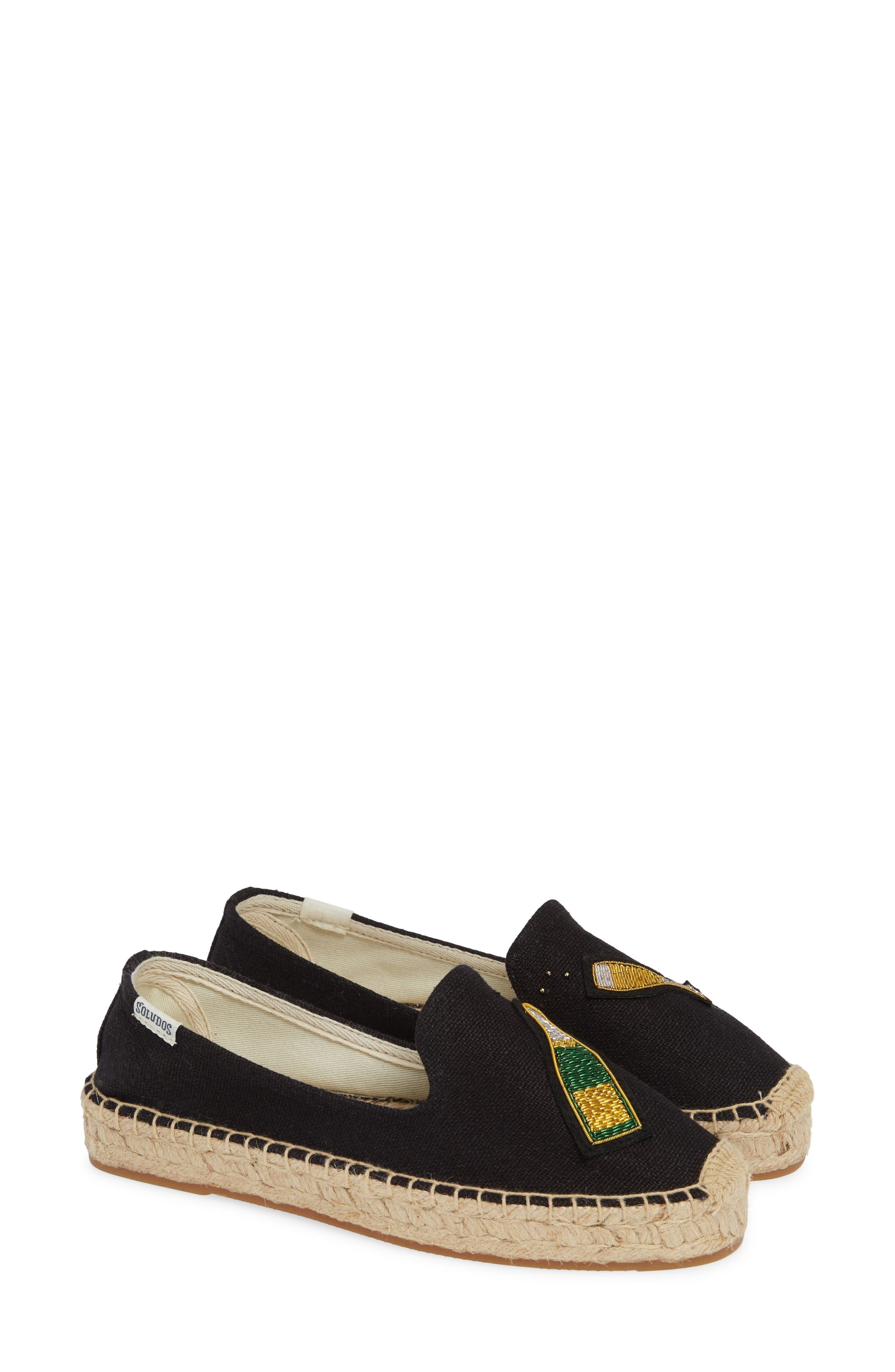 Cheers Espadrille,                             Alternate thumbnail 2, color,                             BLACK