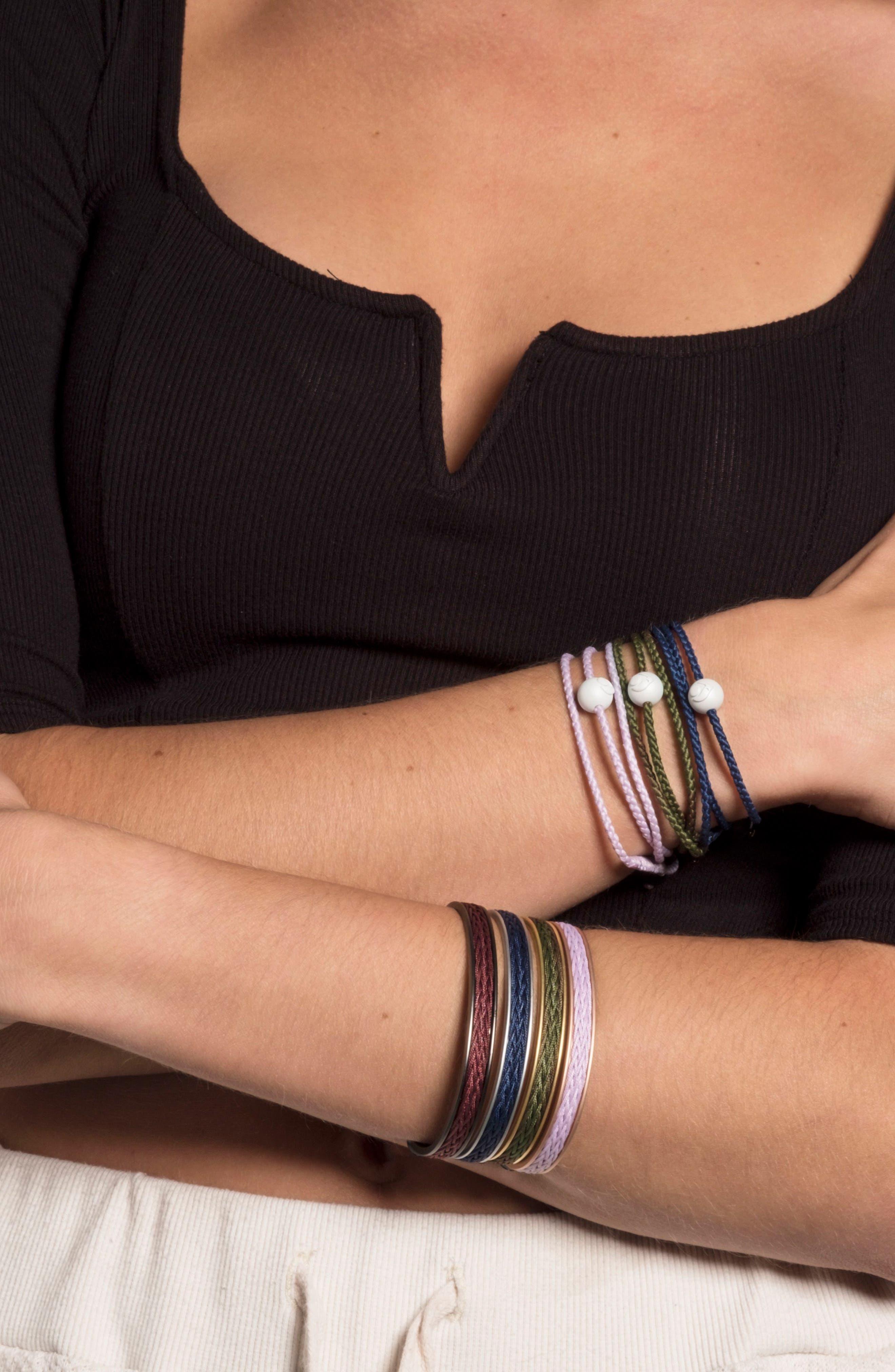 Braided Cuff Bracelet,                             Alternate thumbnail 16, color,