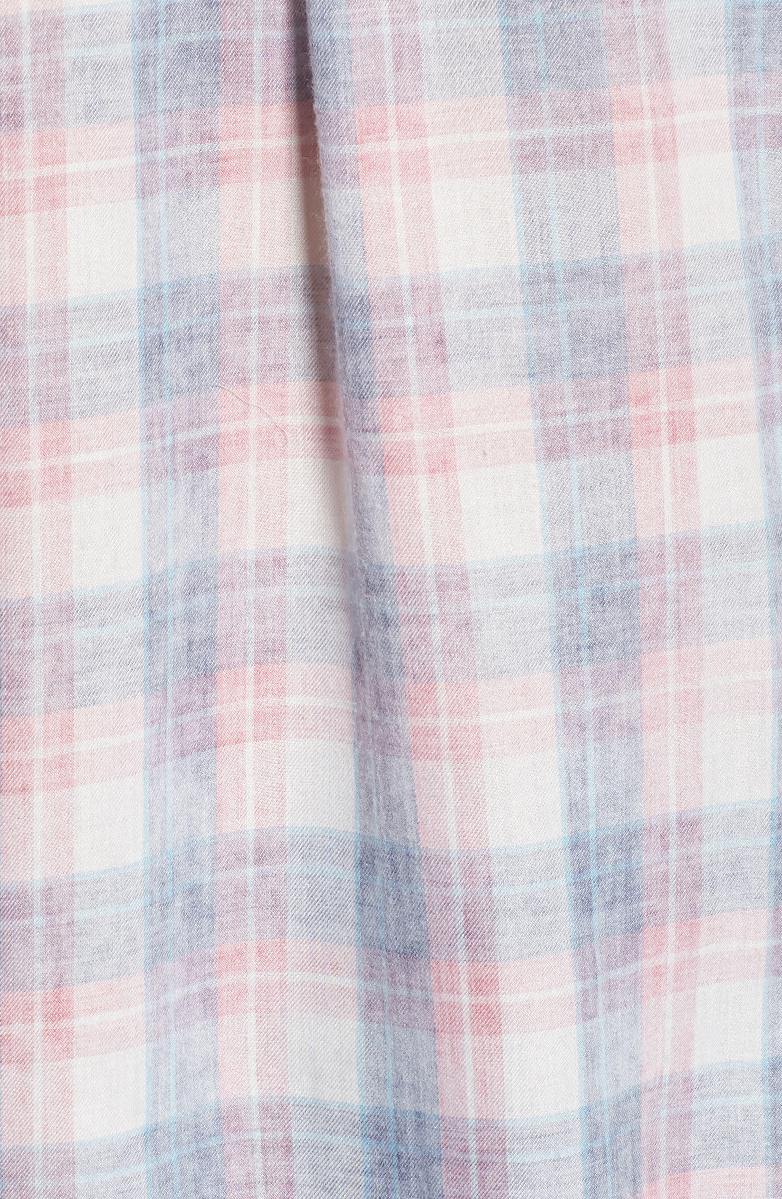 Hunter Plaid Shirt,                             Alternate thumbnail 605, color,