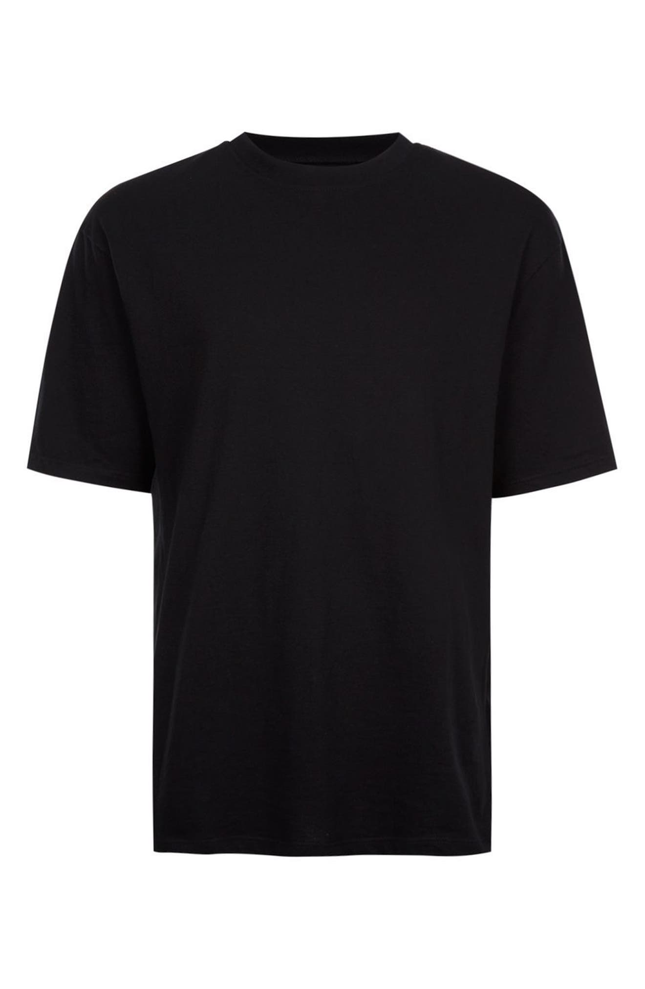 Oversize T-Shirt,                             Alternate thumbnail 4, color,                             001