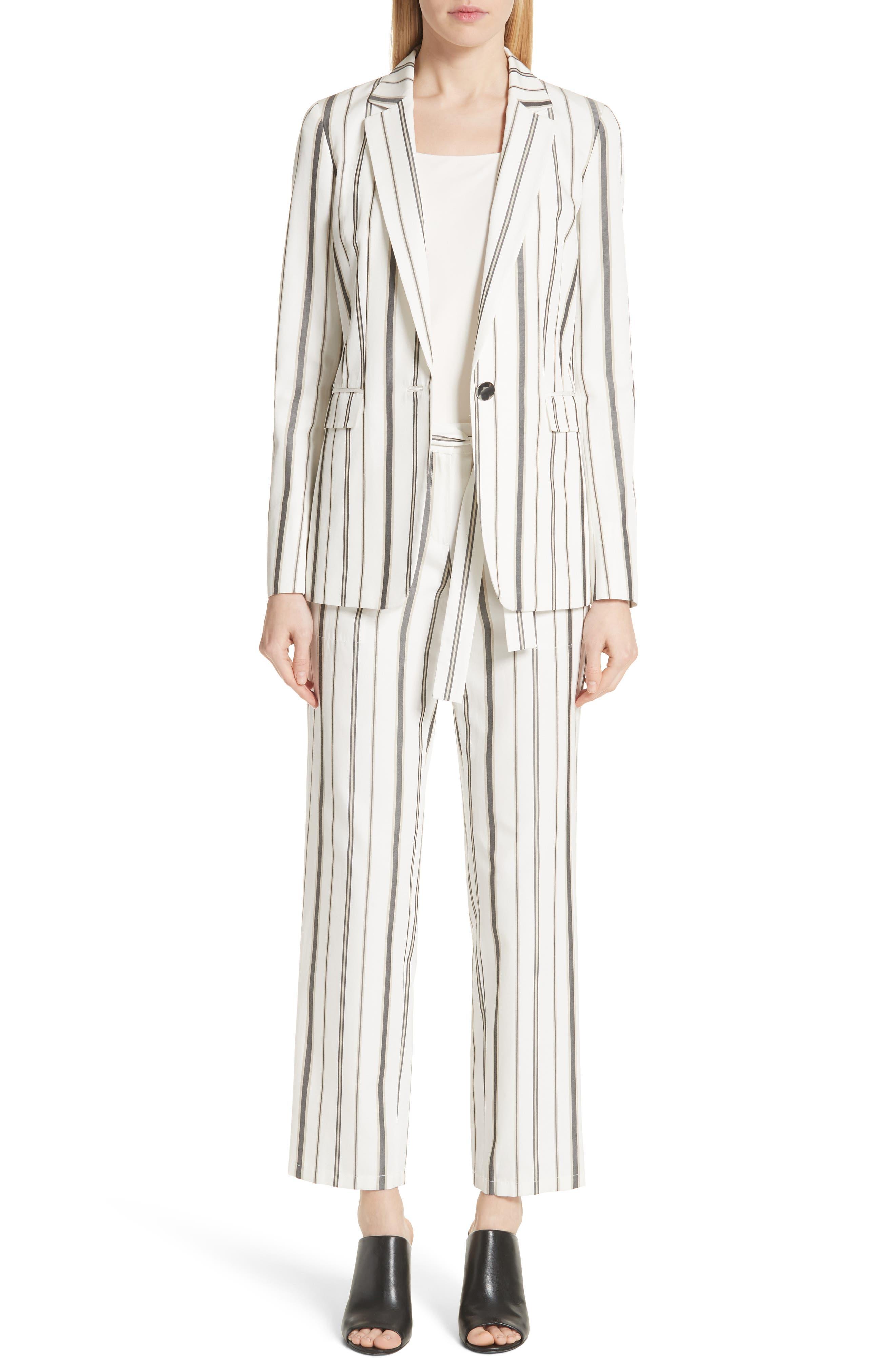 Fulton Gallant Stripe Pants,                             Alternate thumbnail 7, color,                             CLOUD MULTI