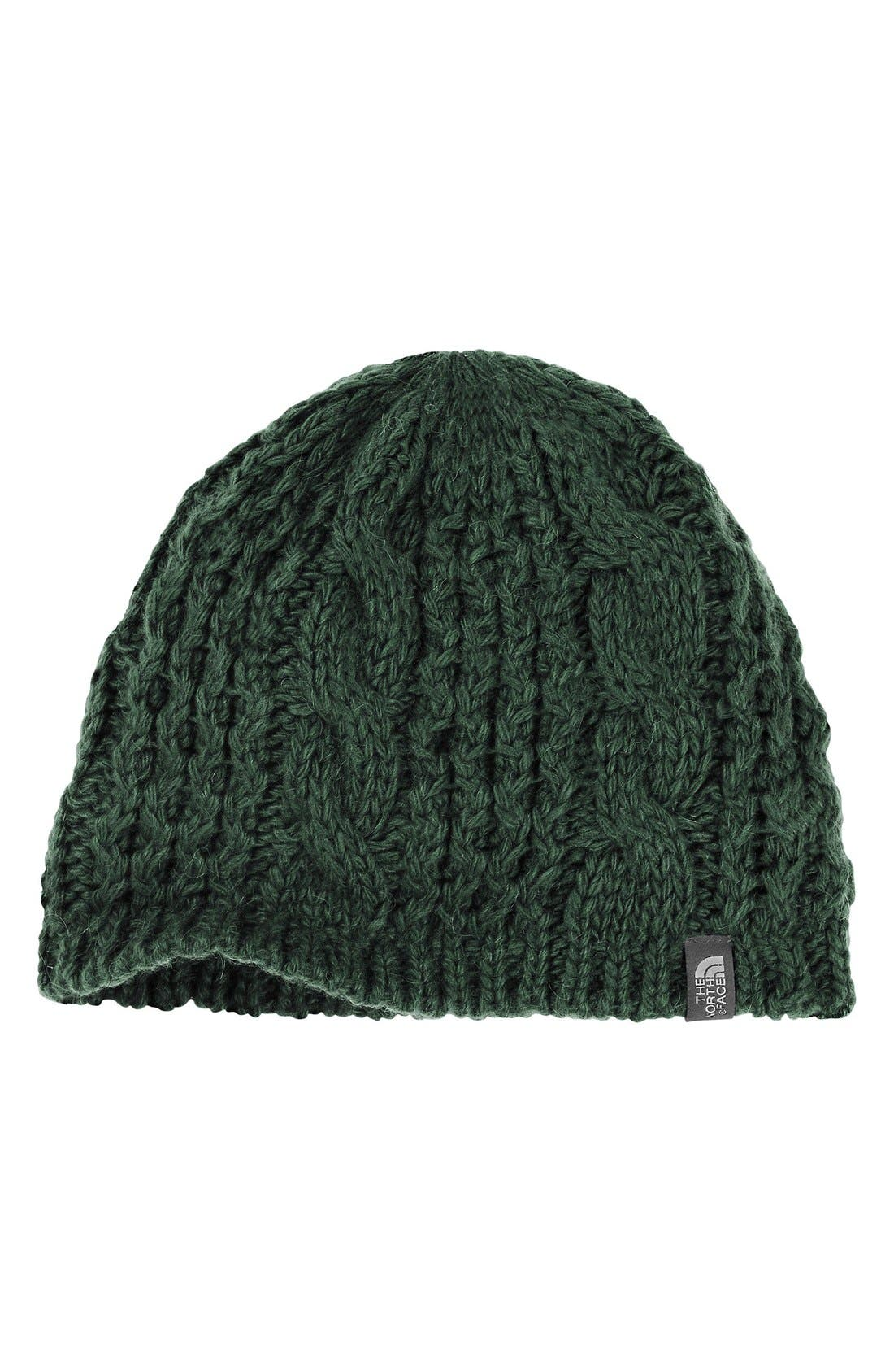 'Minna' Cable Knit Beanie,                             Main thumbnail 9, color,