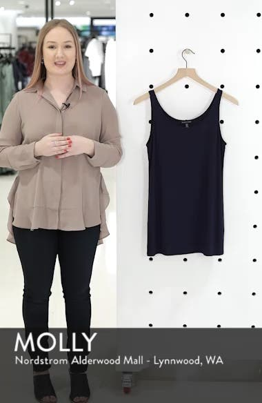 Scoop Neck Long Tank, sales video thumbnail