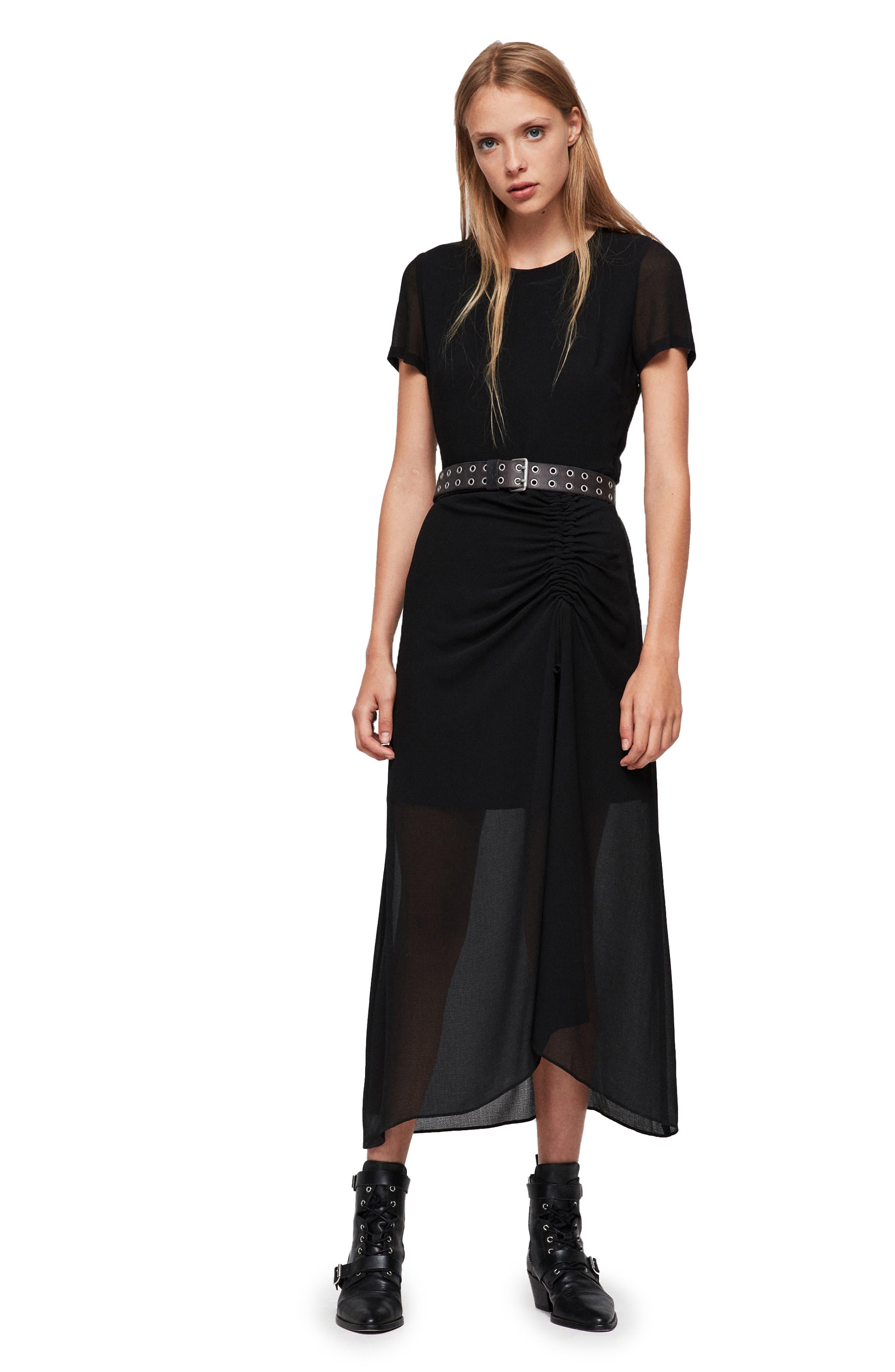 Ariya Dress,                             Alternate thumbnail 5, color,                             001