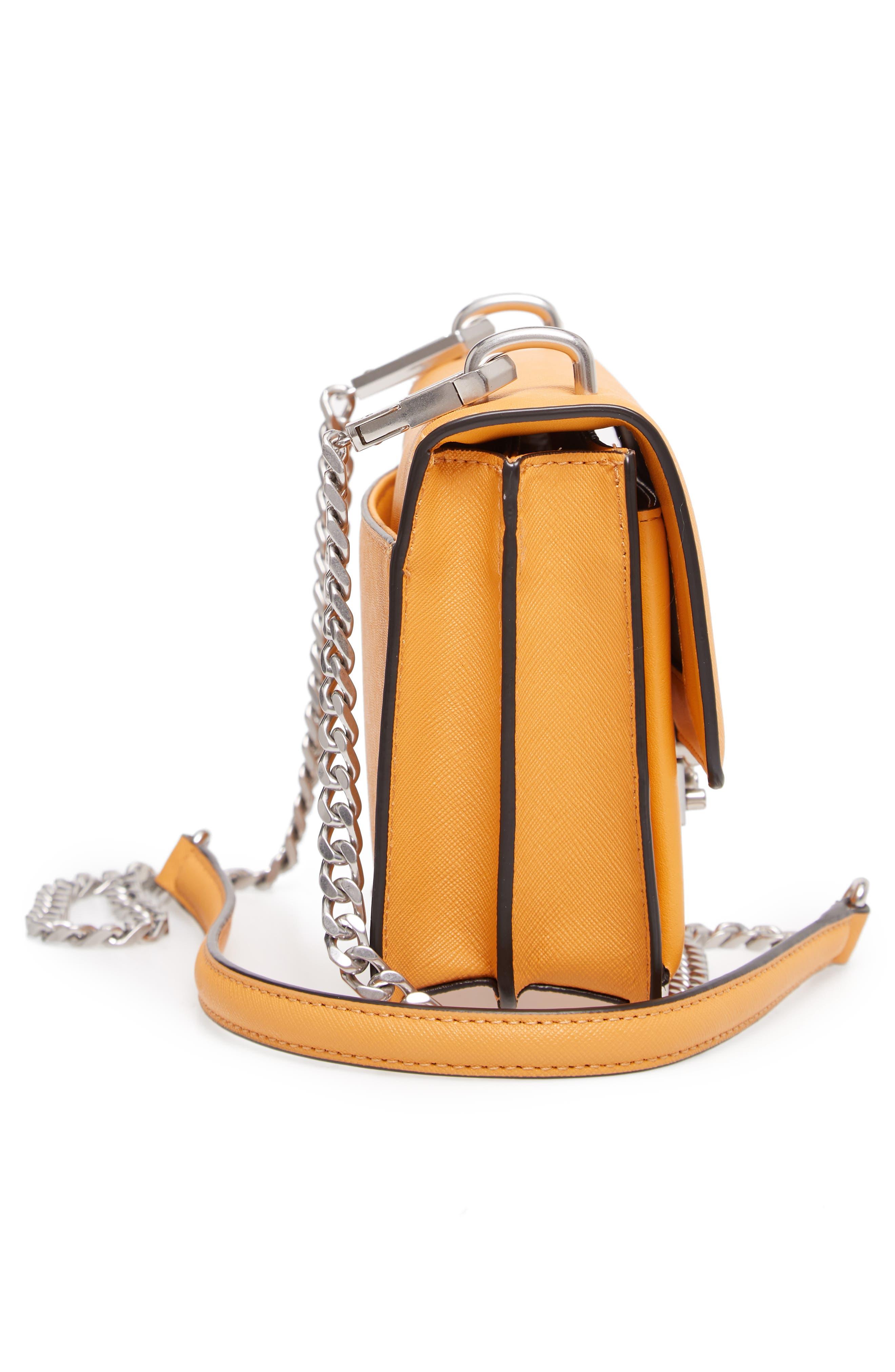Medium Christy Leather Shoulder Bag,                             Alternate thumbnail 22, color,