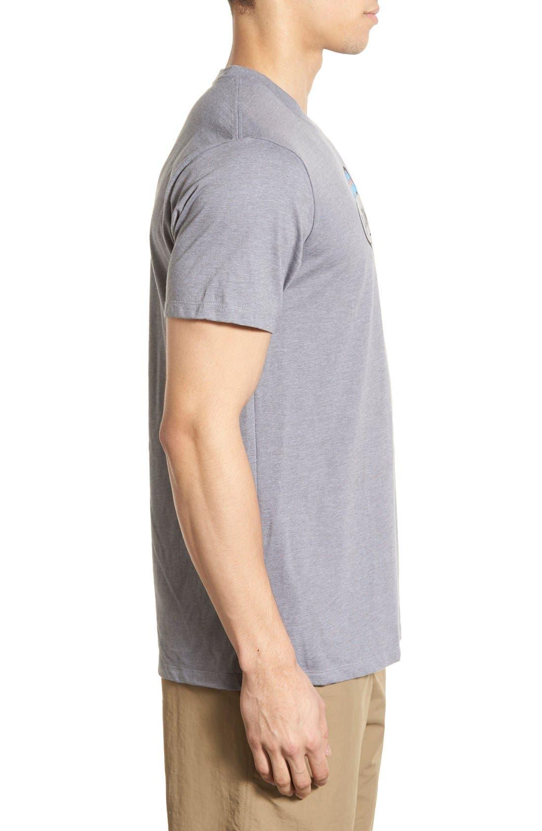'Fitz Roy Crest' Slim Fit Organic Cotton Blend T-Shirt,                             Alternate thumbnail 26, color,