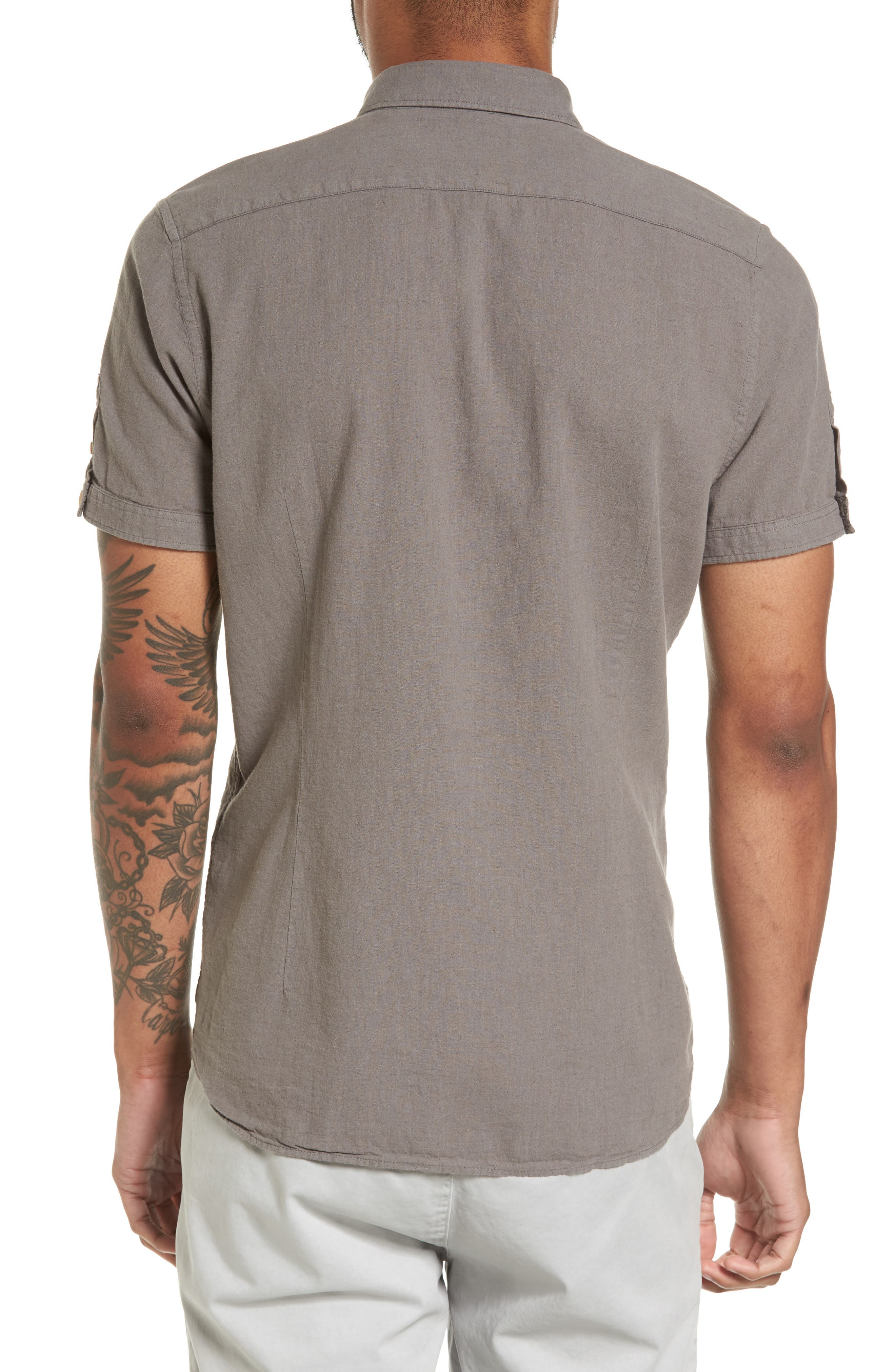 Shrwash Modern Slim Fit Sport Shirt,                             Alternate thumbnail 2, color,                             030