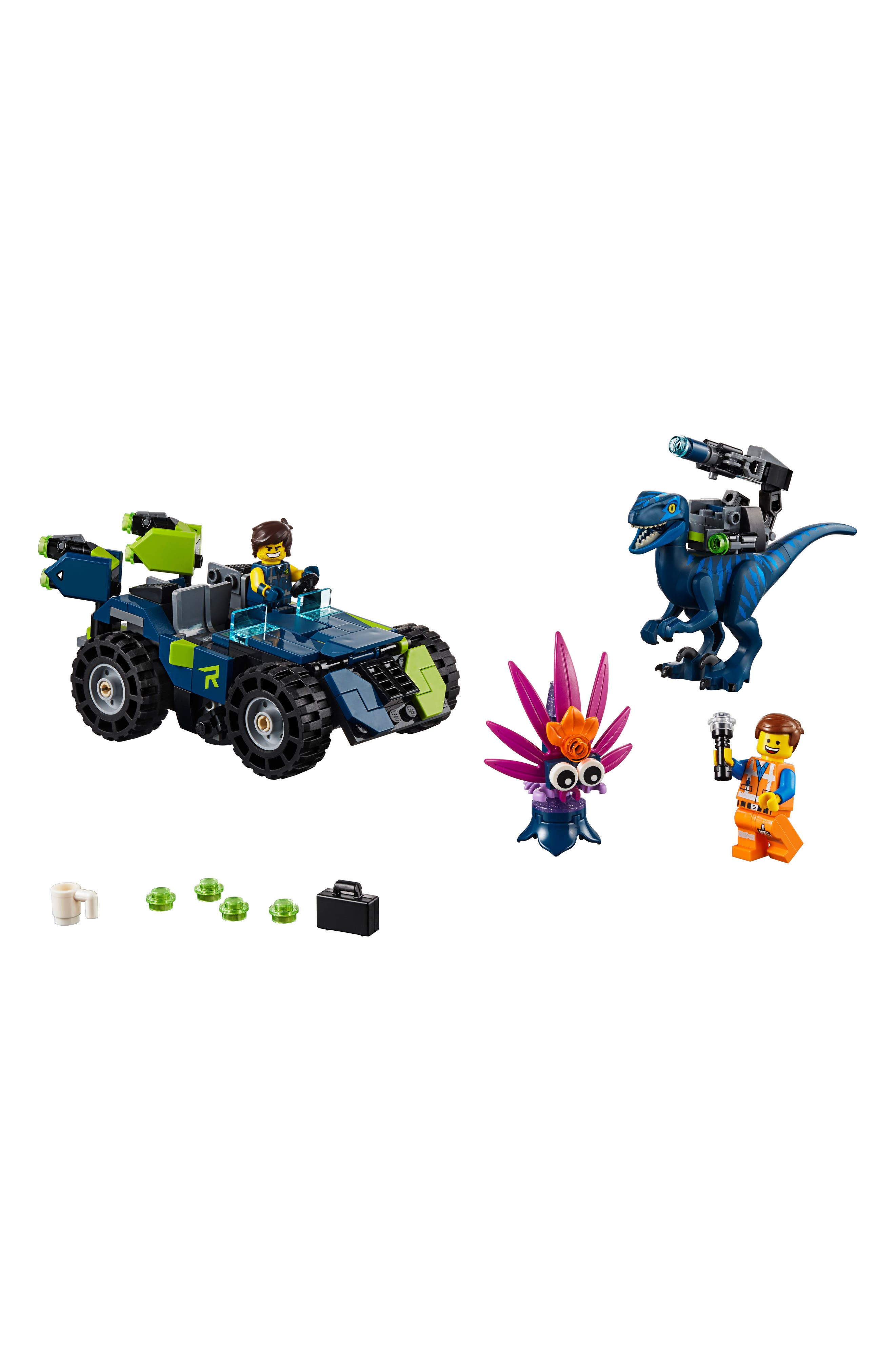 LEGO<SUP>®</SUP> The LEGO<sup>®</sup> Movie 2 Rex's 3-in-1 Rex-treme Offroader Toy - 70826, Main, color, 960