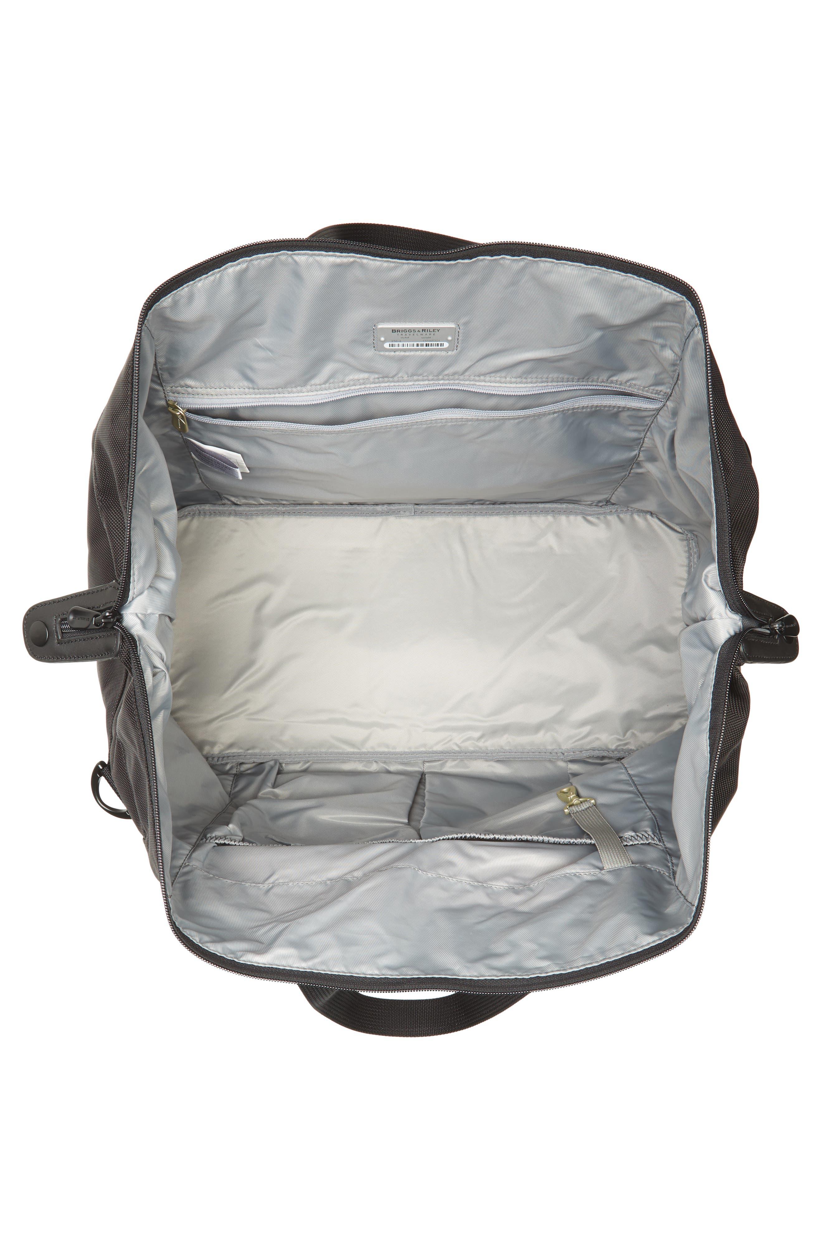 BRIGGS & RILEY,                             'Baseline' Duffel Bag,                             Alternate thumbnail 4, color,                             BLACK