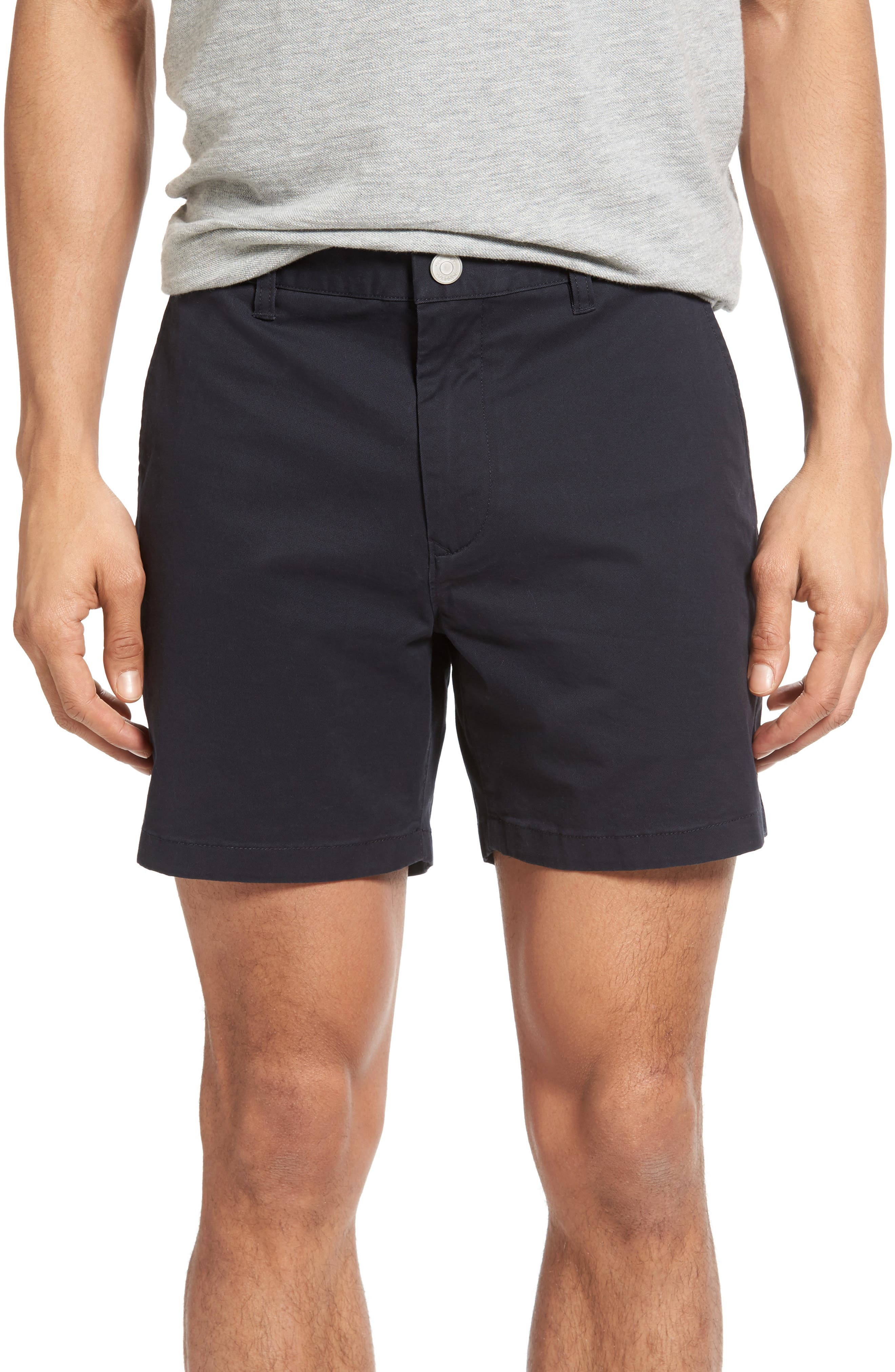 Stretch Washed Chino 5-Inch Shorts,                             Main thumbnail 26, color,