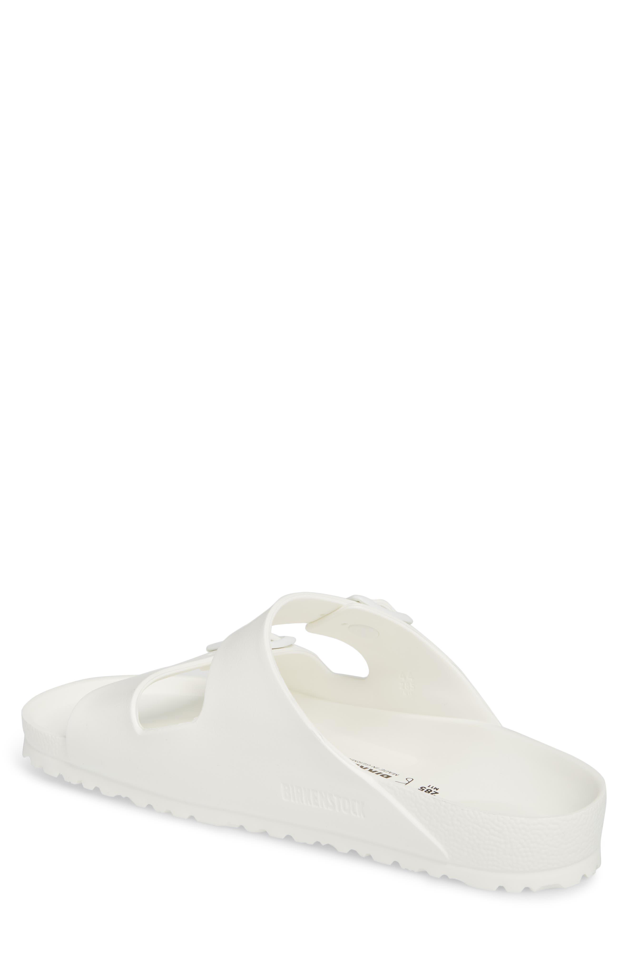 'Essentials - Arizona EVA' Waterproof Slide Sandal,                             Alternate thumbnail 2, color,                             WHITE