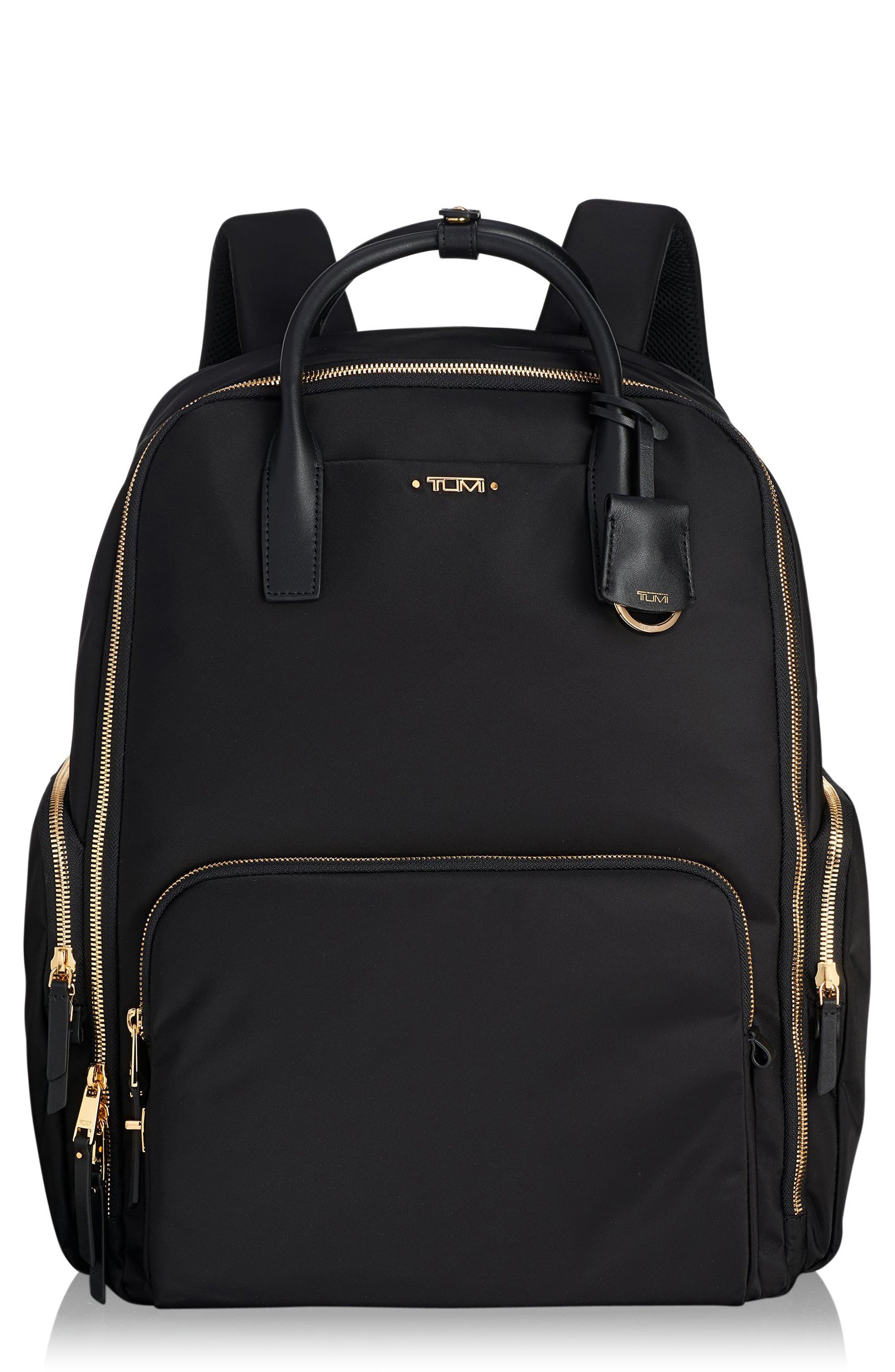 Voyager Ursula Nylon Backpack,                         Main,                         color, 001
