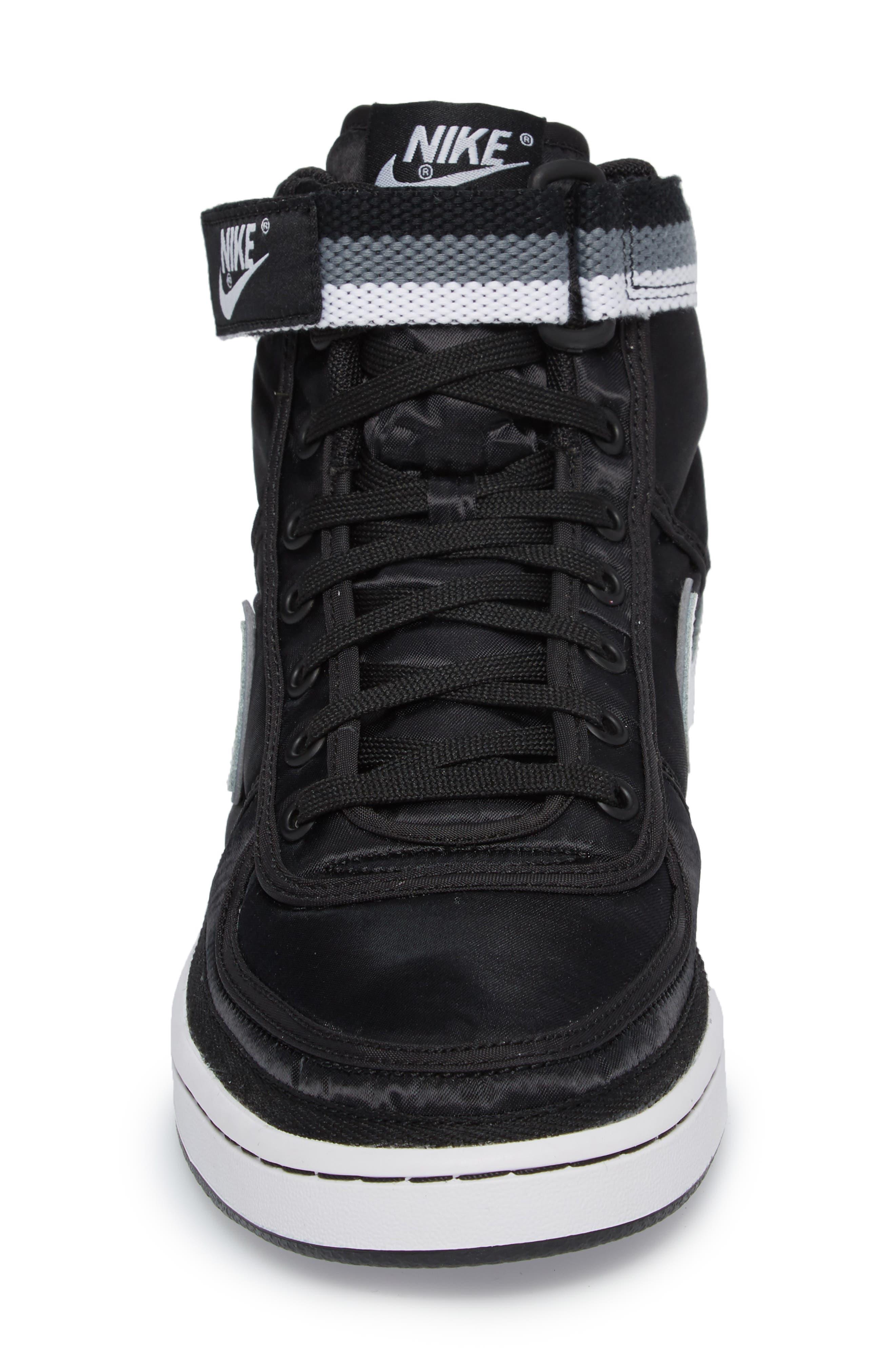 Vandal High Supreme High Top Sneaker,                             Alternate thumbnail 4, color,                             001