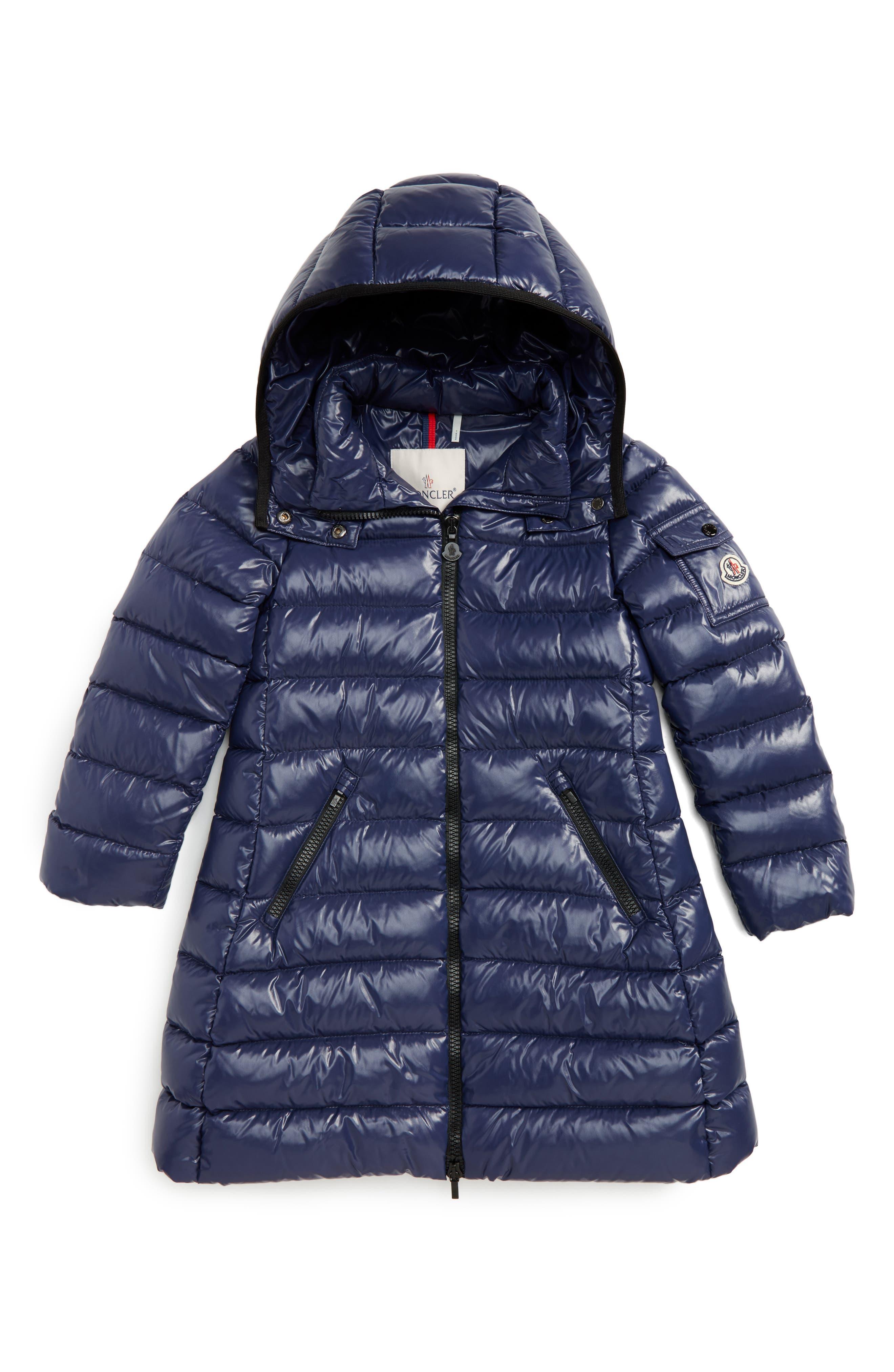 Moka Long Hooded Waterproof Down Jacket,                         Main,                         color, 409