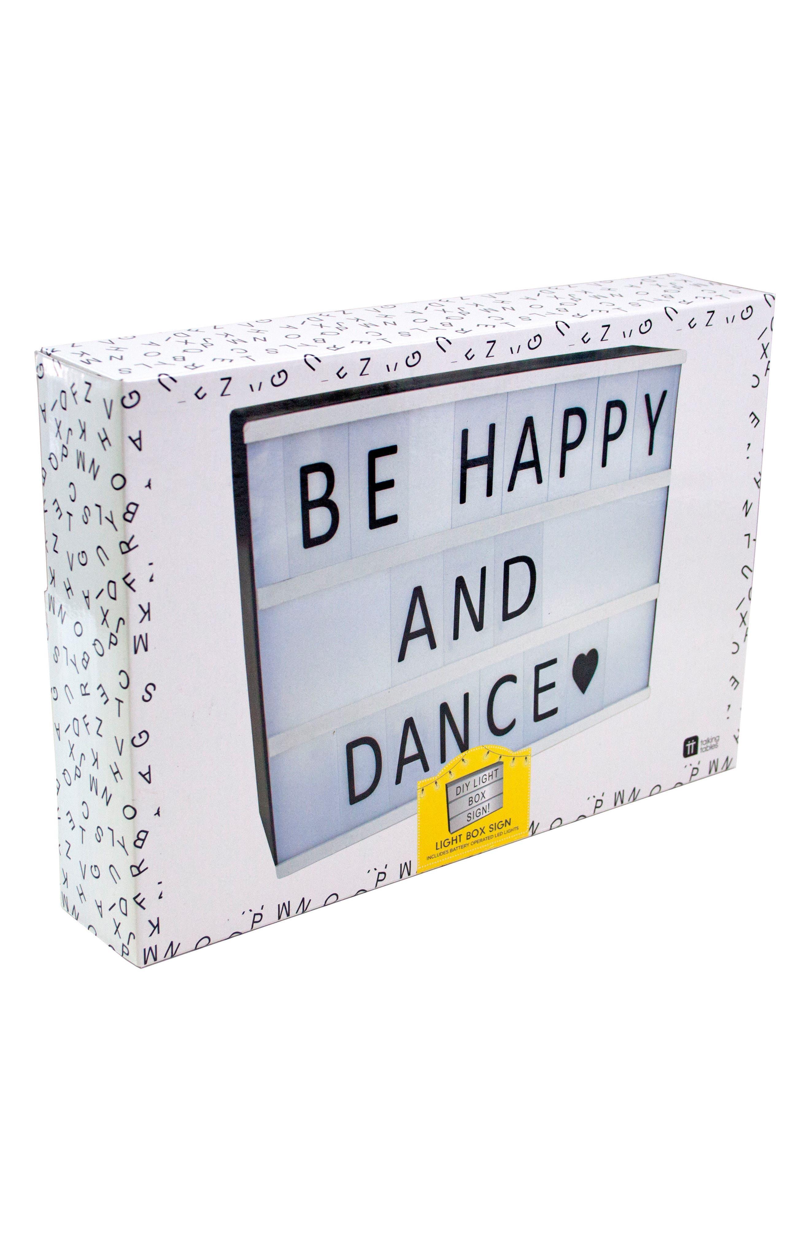 Party Illuminations DIY Light Box Sign,                             Alternate thumbnail 2, color,                             100