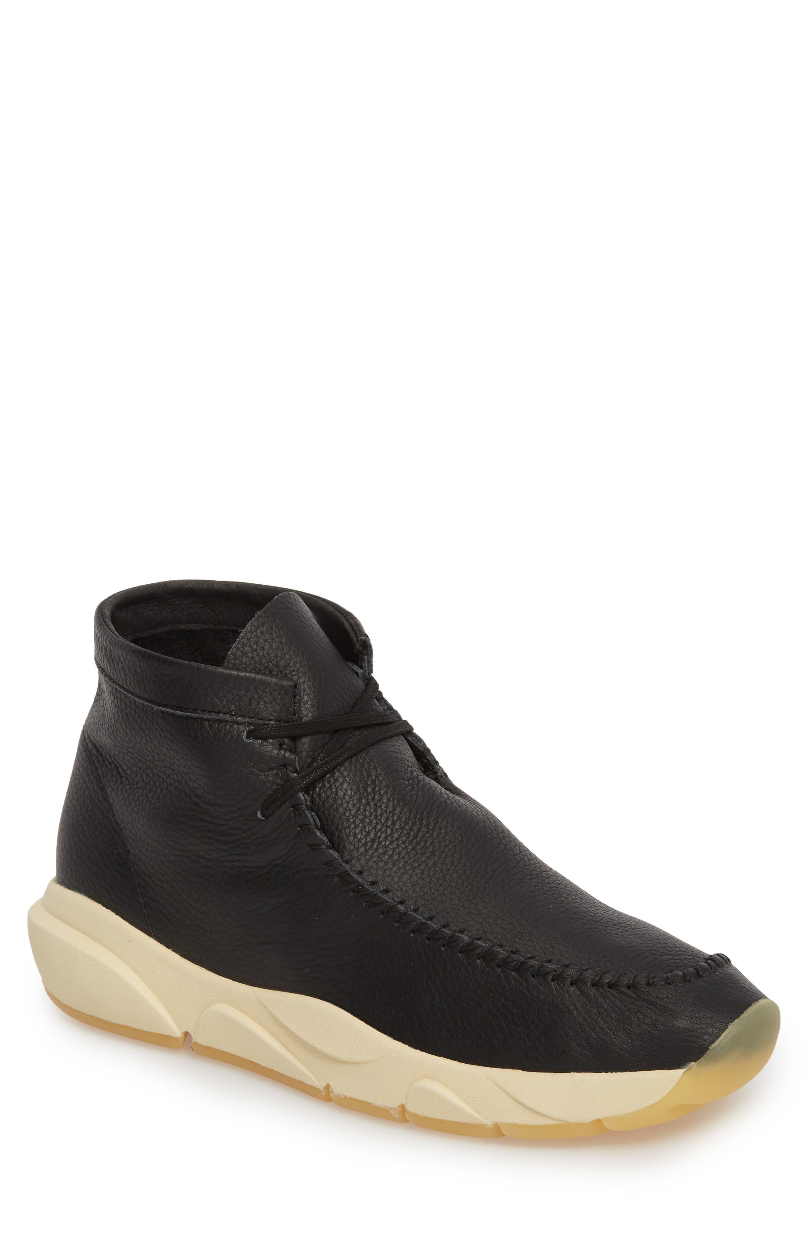 Castas Asymmetrical Chukka Sneaker,                             Main thumbnail 1, color,                             001