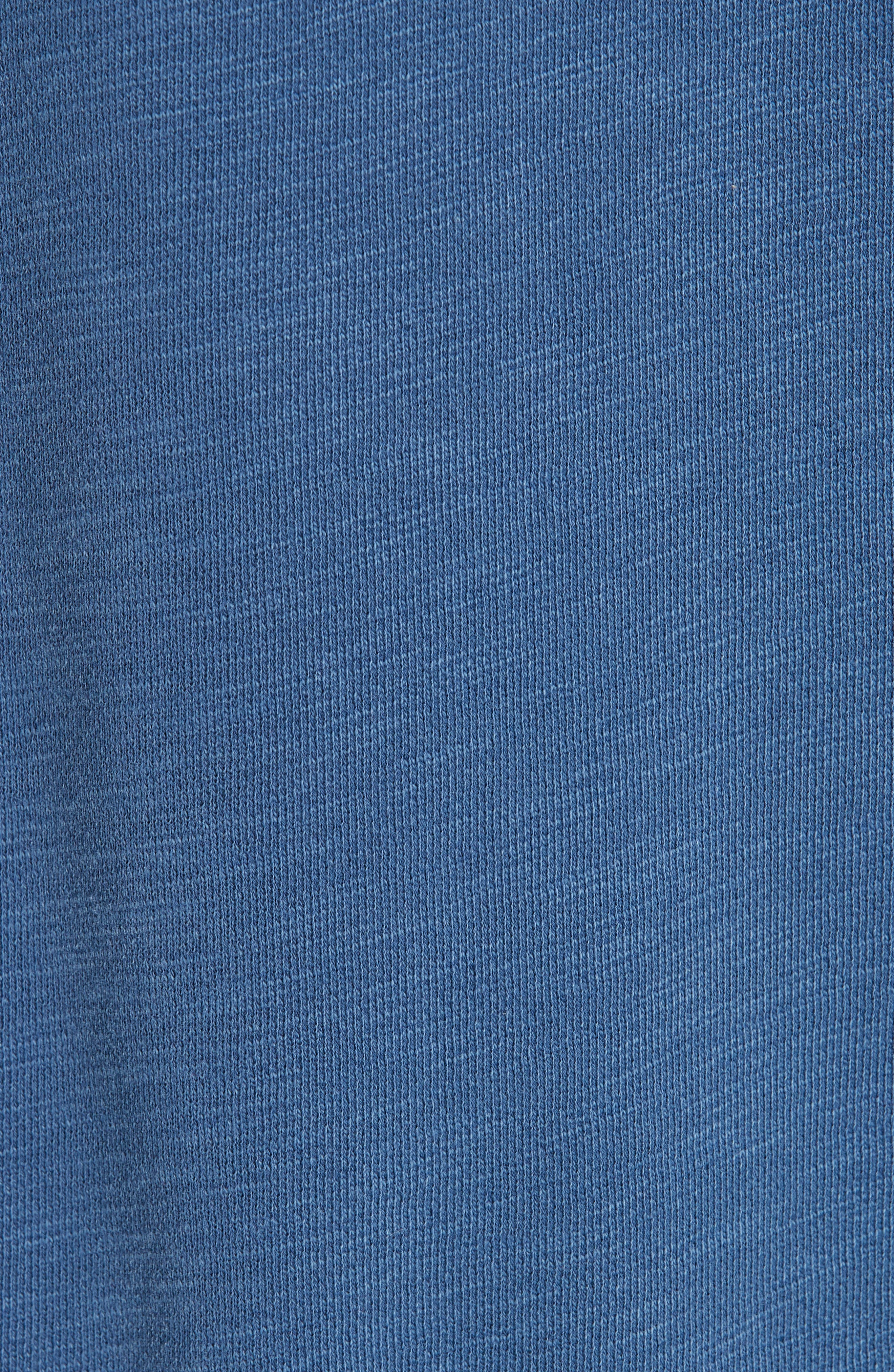 Racer Hoodie,                             Alternate thumbnail 5, color,                             WASHED NAVY