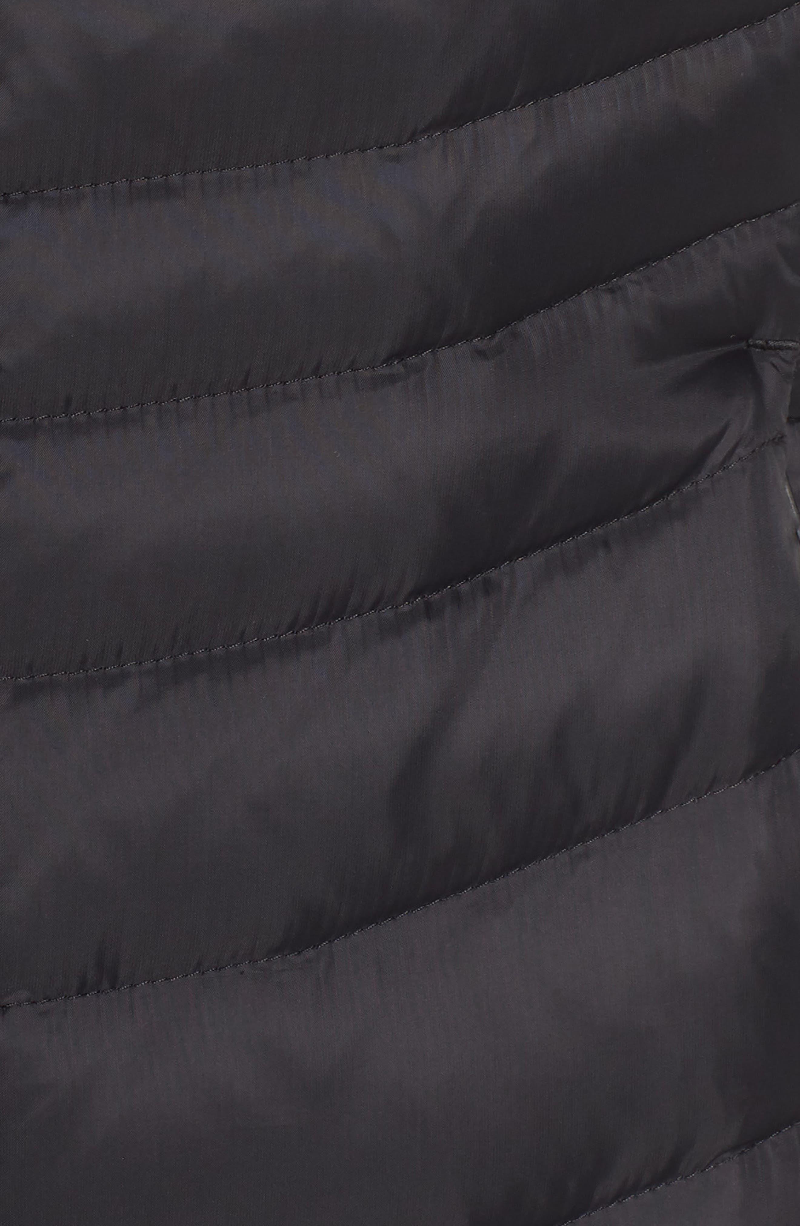 THE NORTH FACE, Aconcagua II Down Vest, Alternate thumbnail 7, color, TNF BLACK
