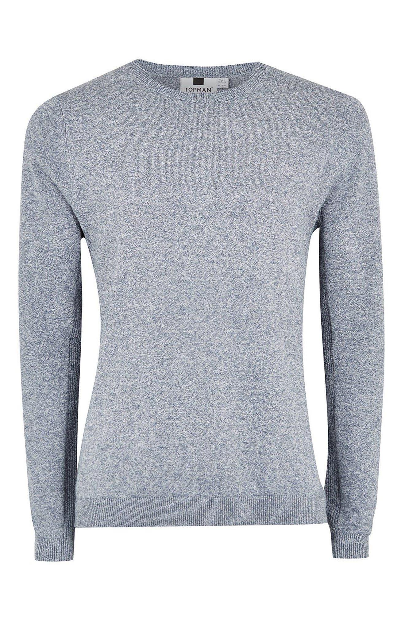 Side Rib Cotton Sweater,                             Alternate thumbnail 15, color,