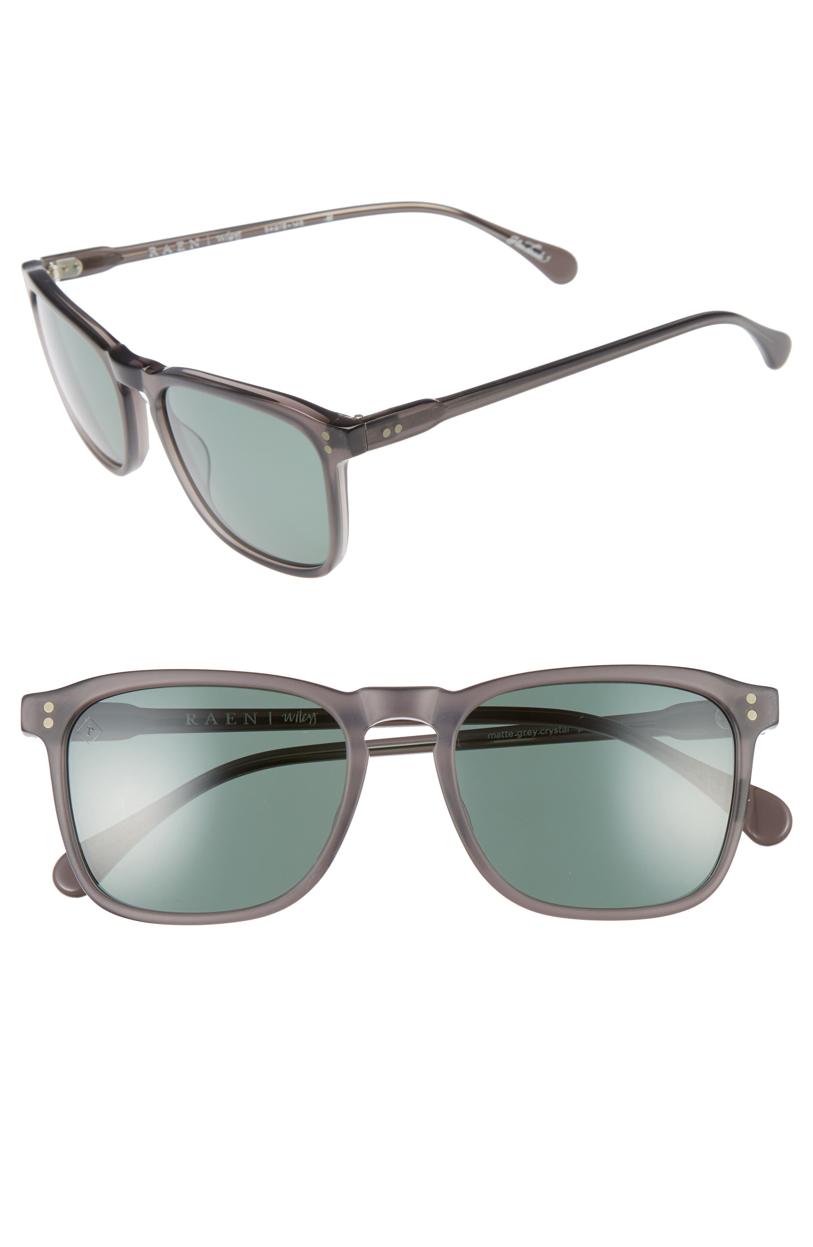 Wiley 54mm Sunglasses,                             Main thumbnail 1, color,                             020