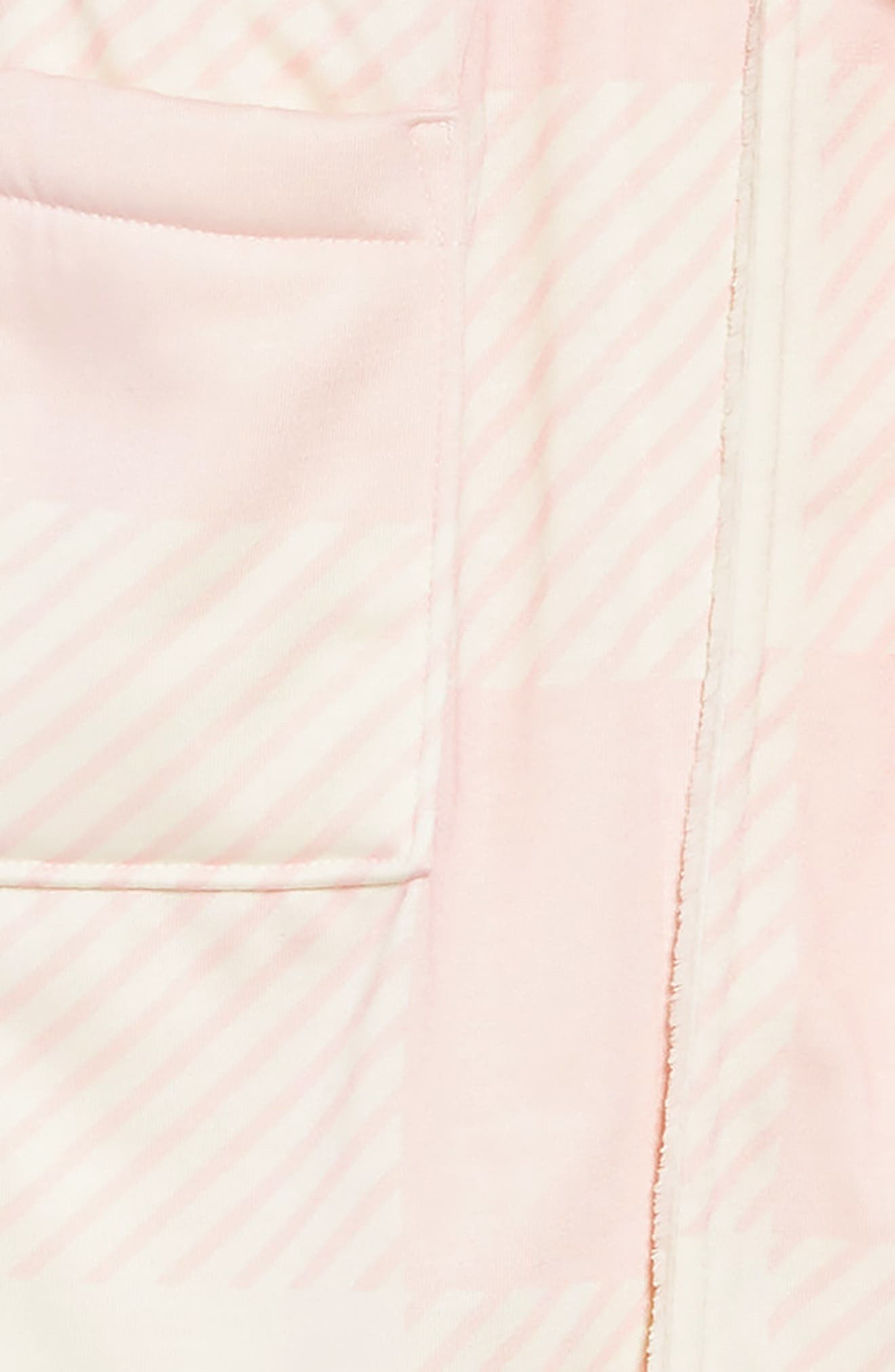 Plush Lined Robe,                             Alternate thumbnail 2, color,                             PINK BABY CHECK