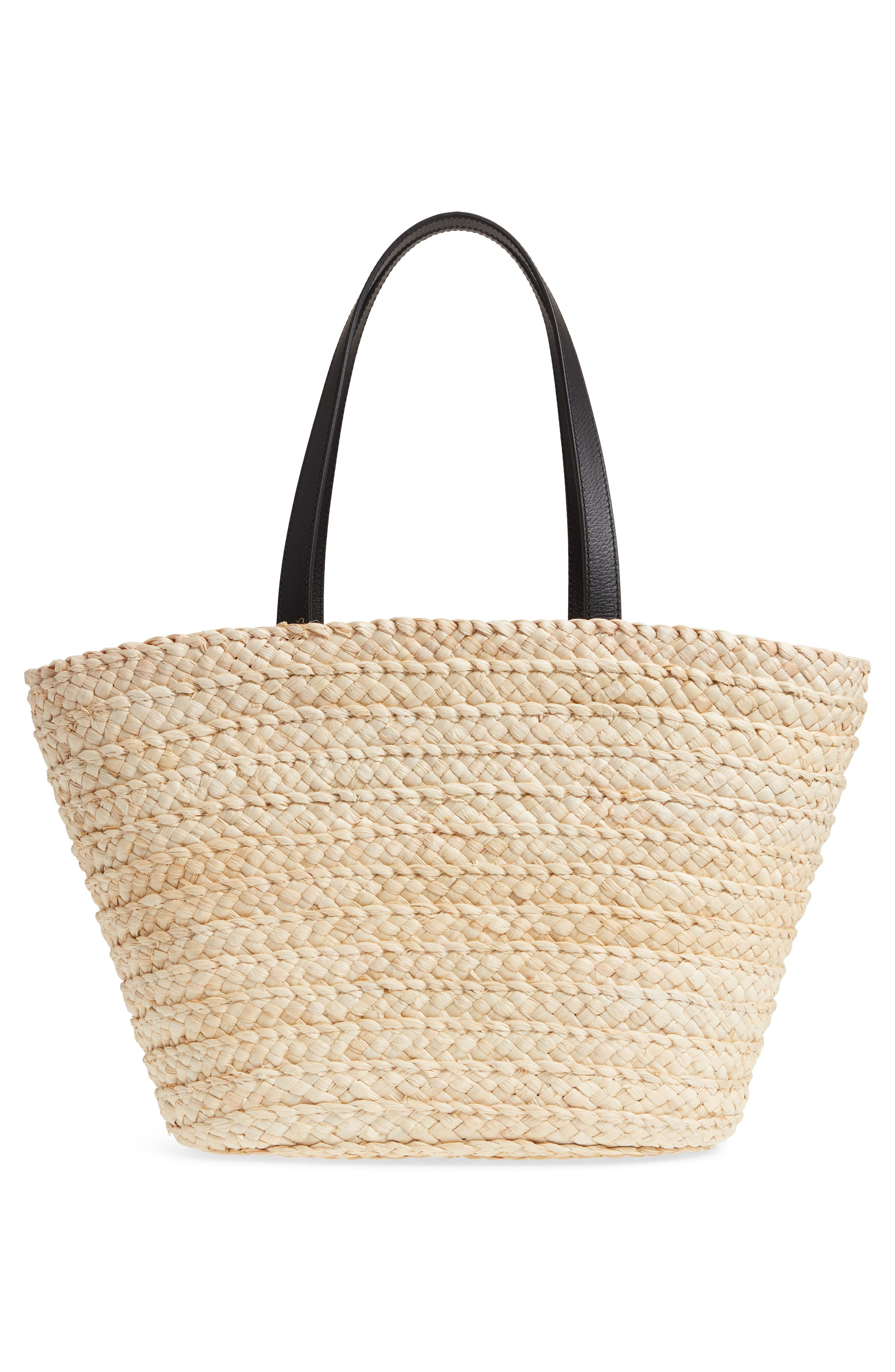 picnic perfect bee my honey straw tote,                             Alternate thumbnail 3, color,                             900