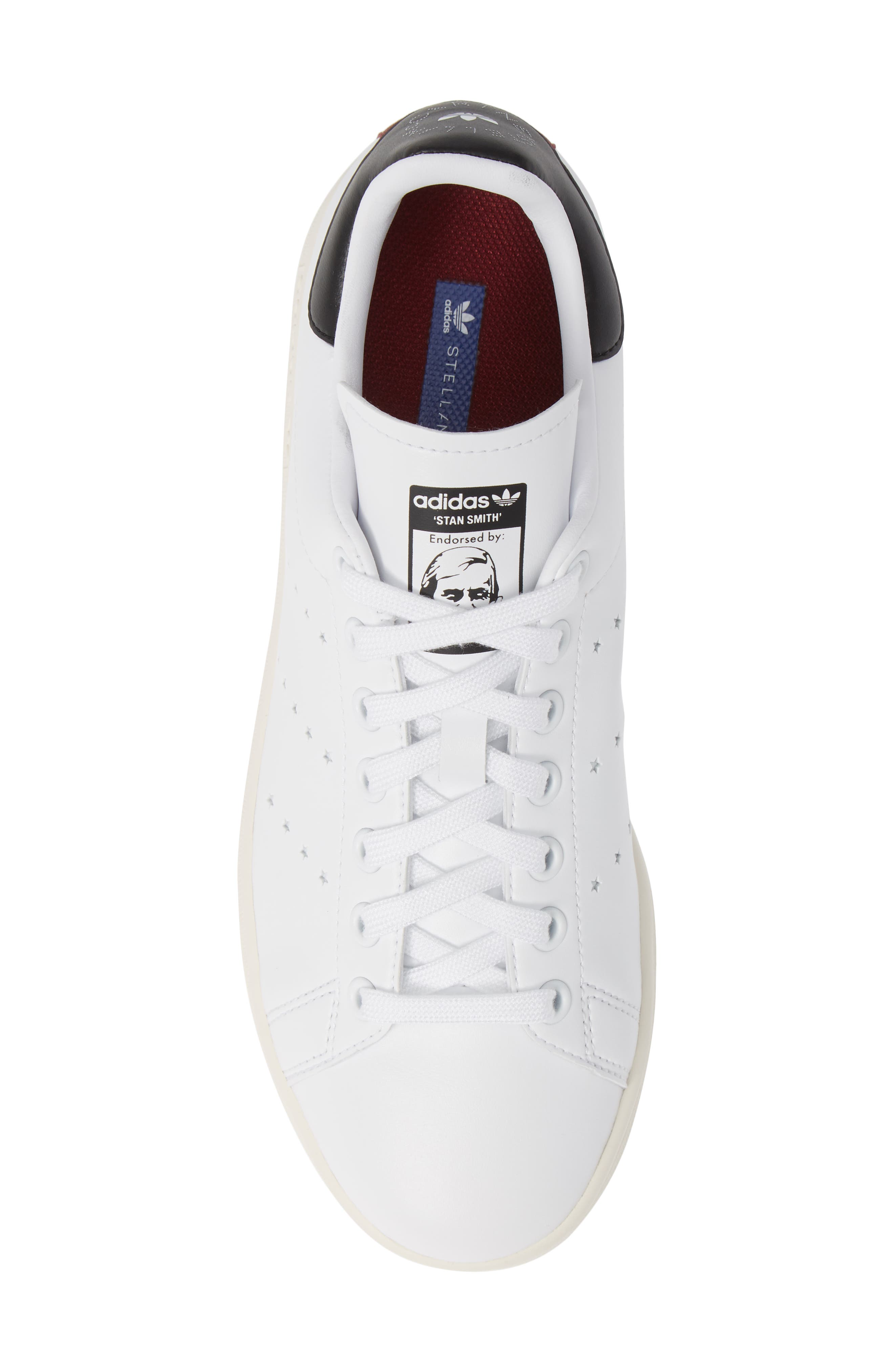 Stan Smith Sneaker,                             Alternate thumbnail 5, color,                             WHITE