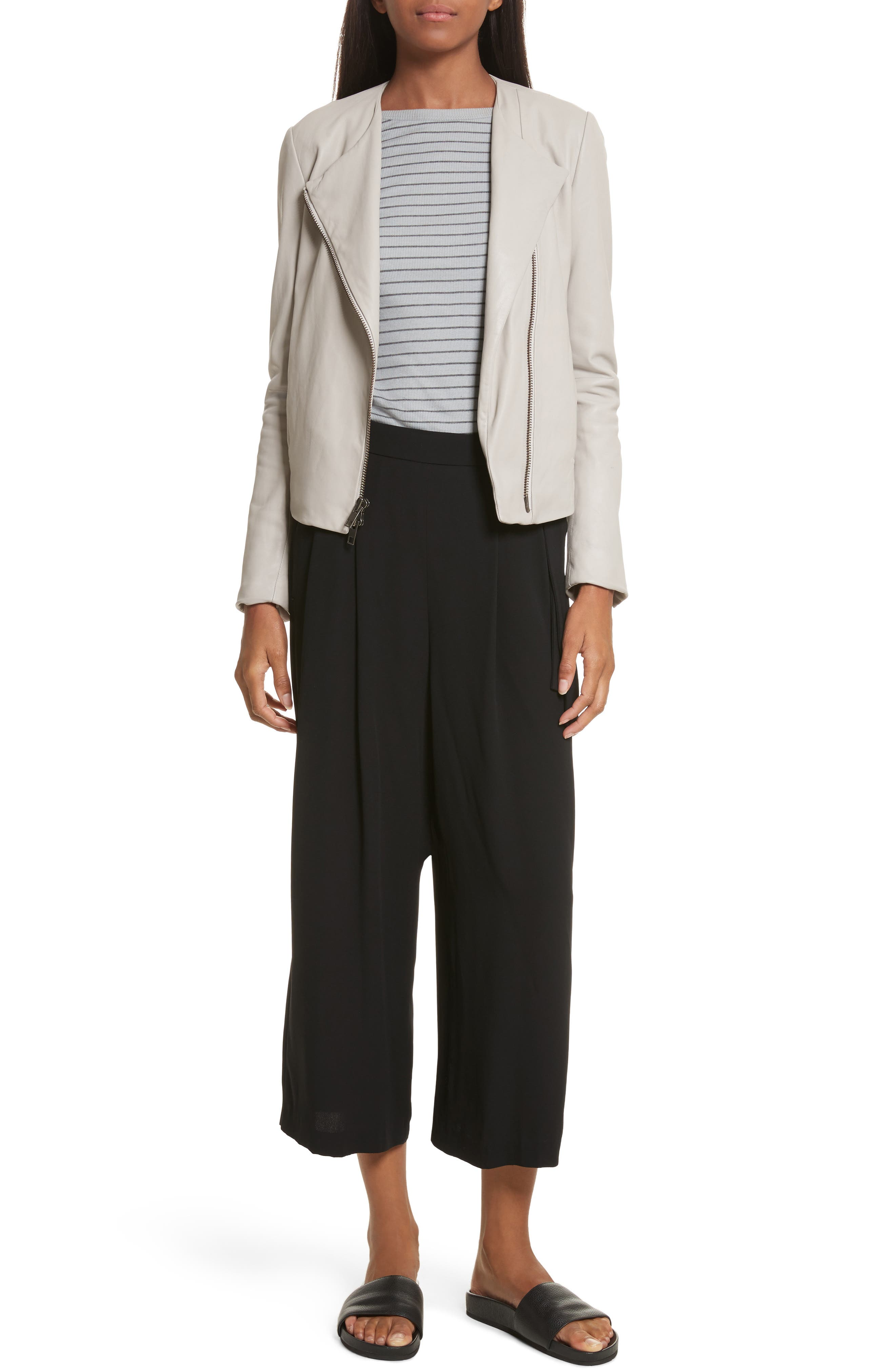 Belted Culottes,                             Alternate thumbnail 7, color,                             001
