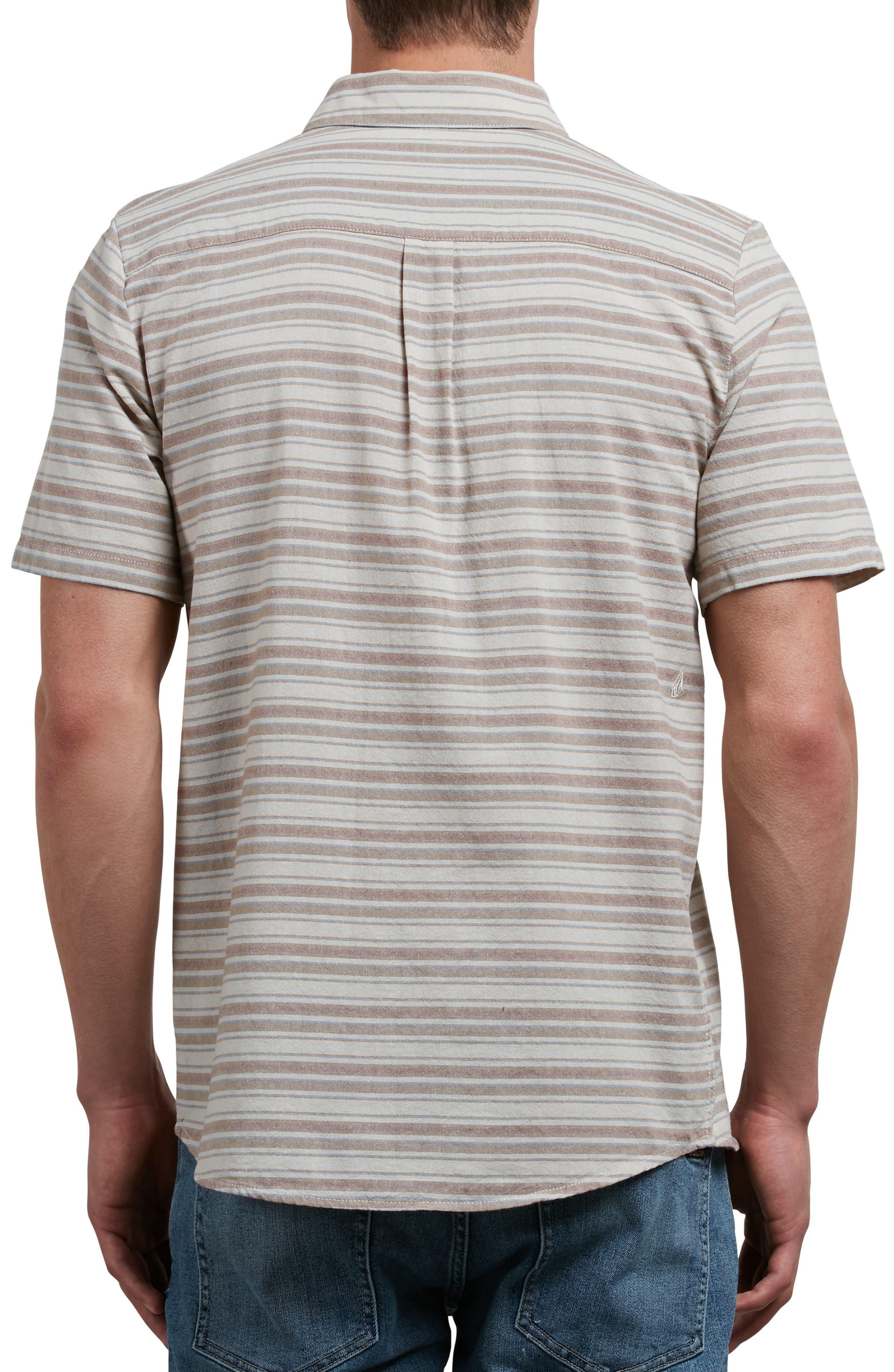 Sable Stripe Woven Shirt,                             Alternate thumbnail 2, color,                             283