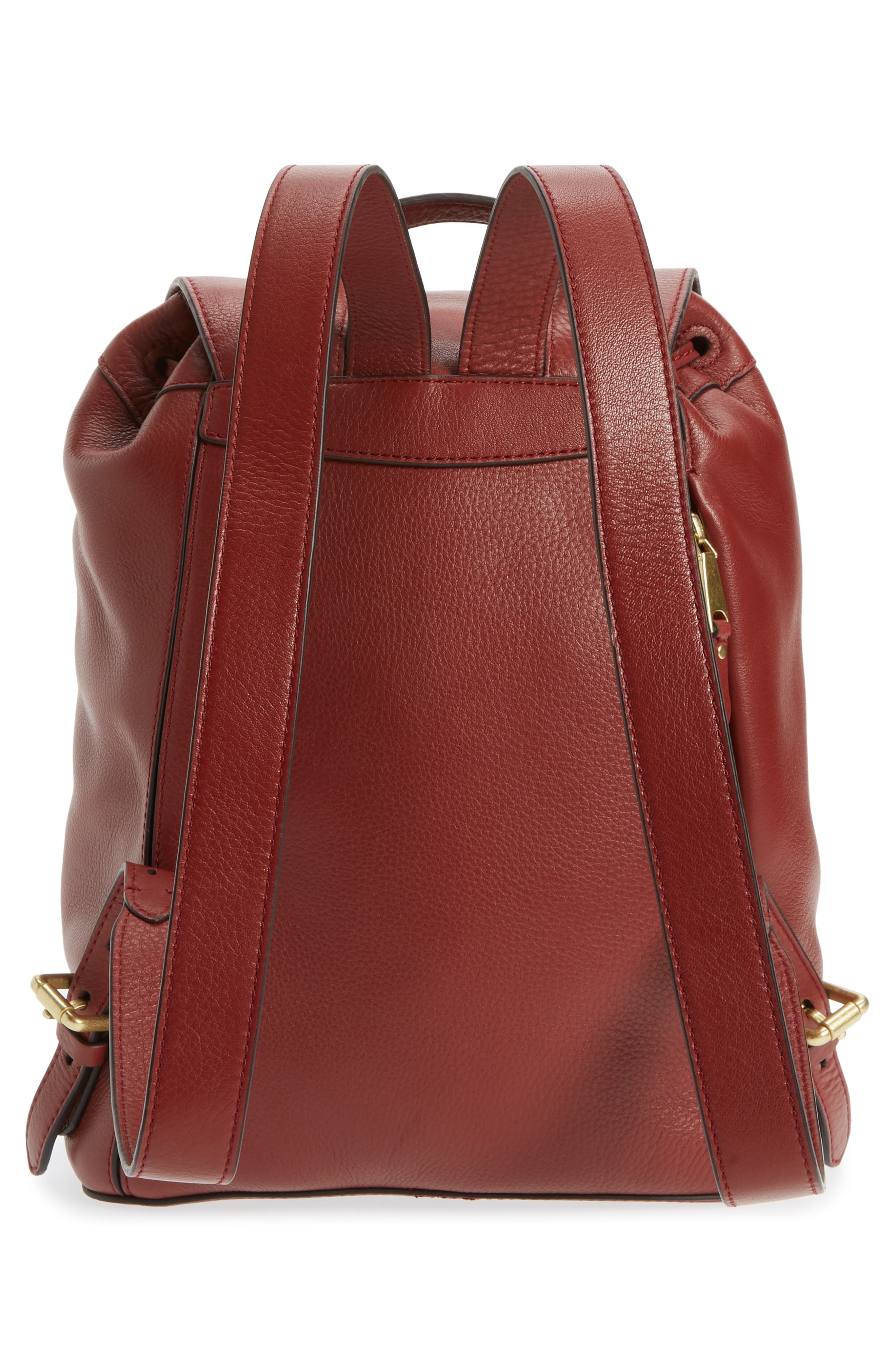 Cassidy RFID Pebbled Leather Backpack,                             Alternate thumbnail 10, color,
