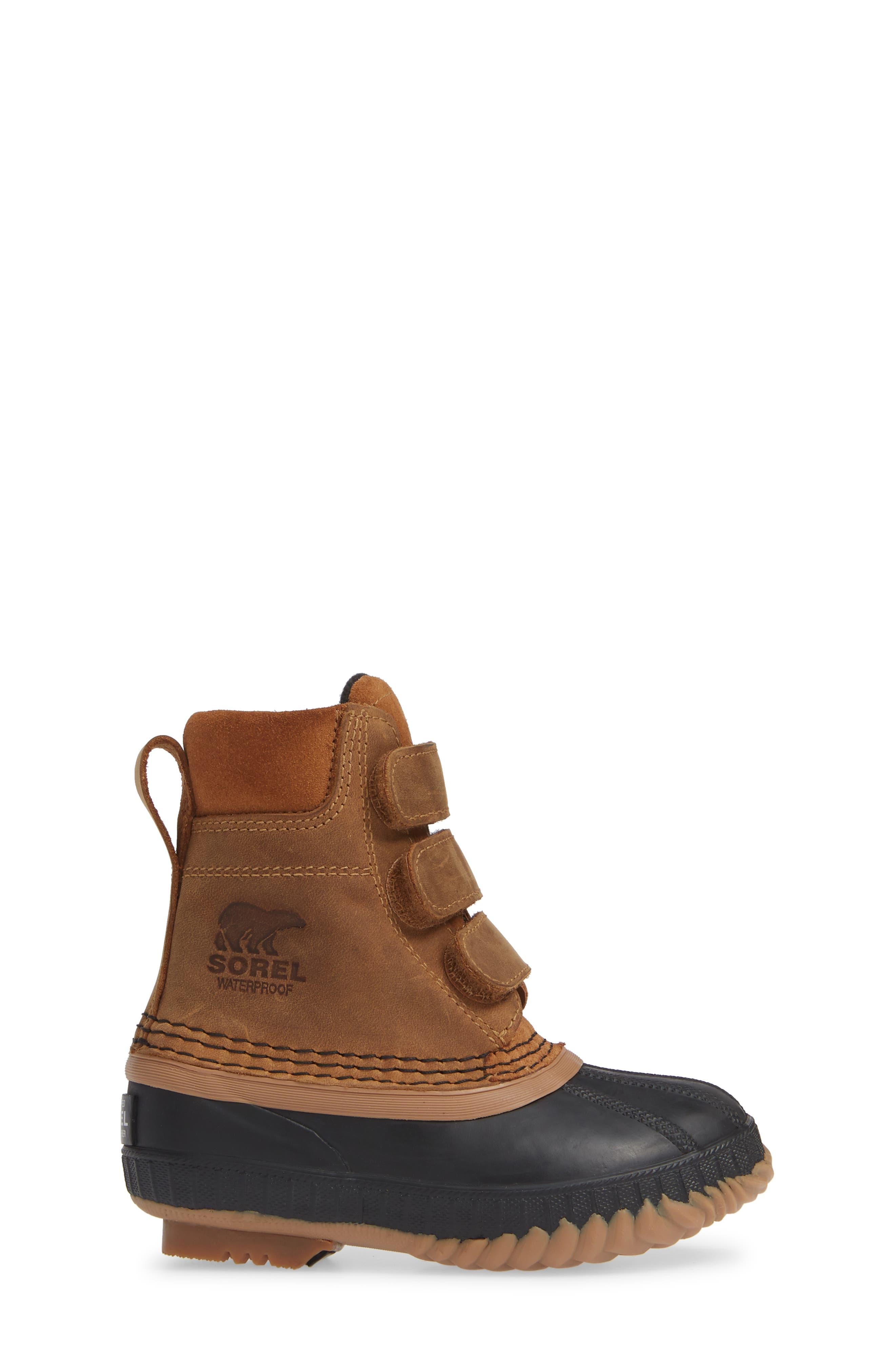 Cheyanne<sup>™</sup> II Waterproof Boot,                             Alternate thumbnail 3, color,                             ELK/ BLACK