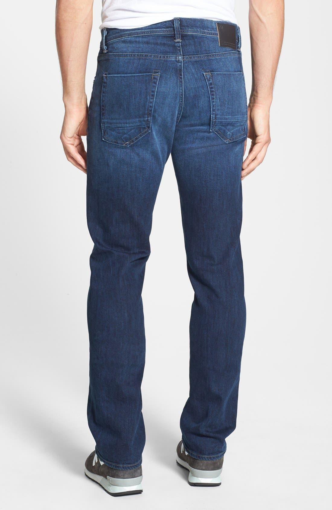 'Pragmatist Big Drake 4 Year Flex' Straight Leg Italian Stretch Denim Jeans,                             Alternate thumbnail 3, color,                             421