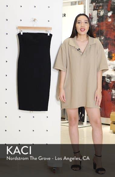 Brianna Strapless Knit Body-Con Dress, sales video thumbnail