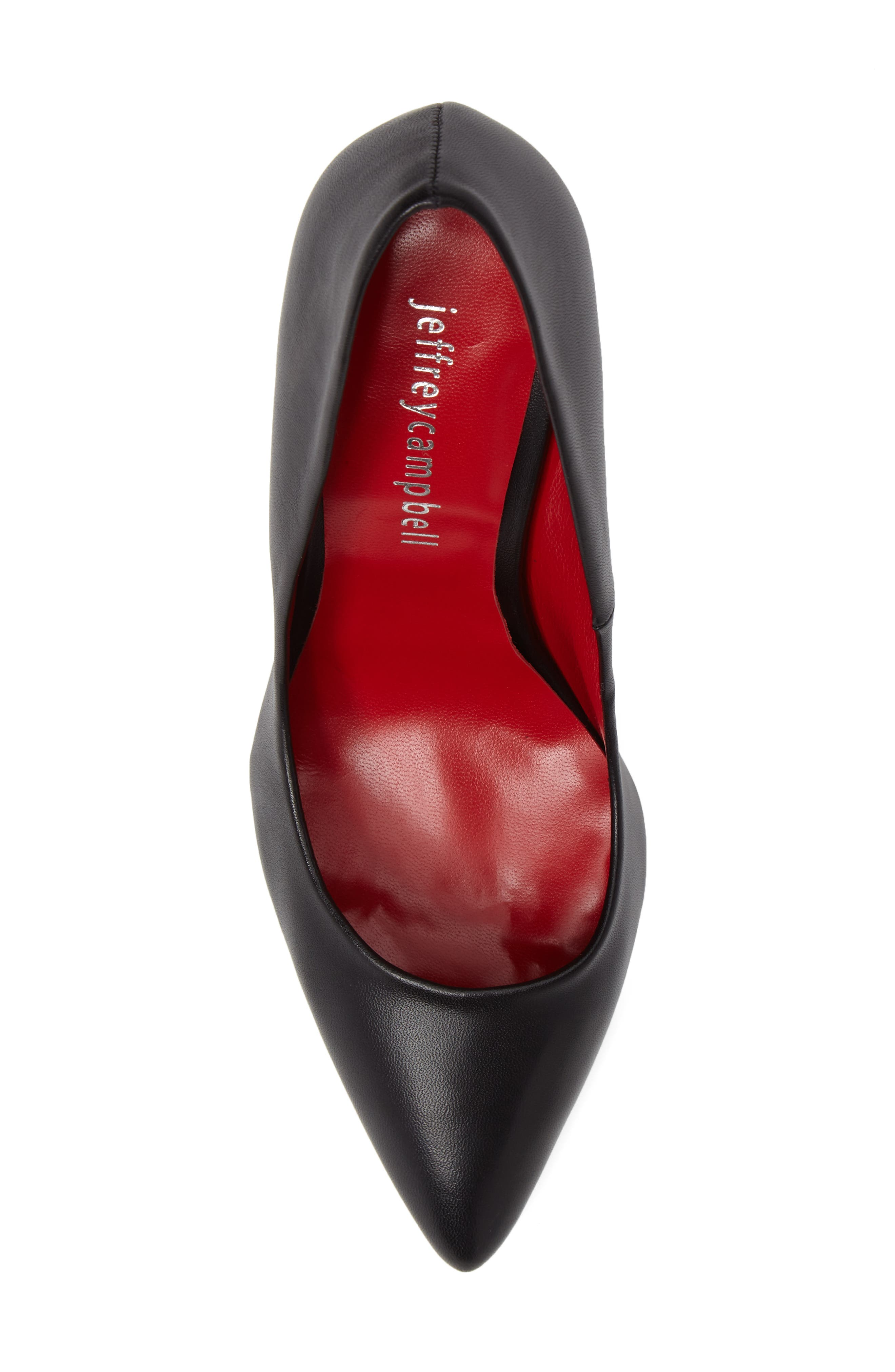 Sachi Pointy Toe Pump,                             Alternate thumbnail 5, color,                             001